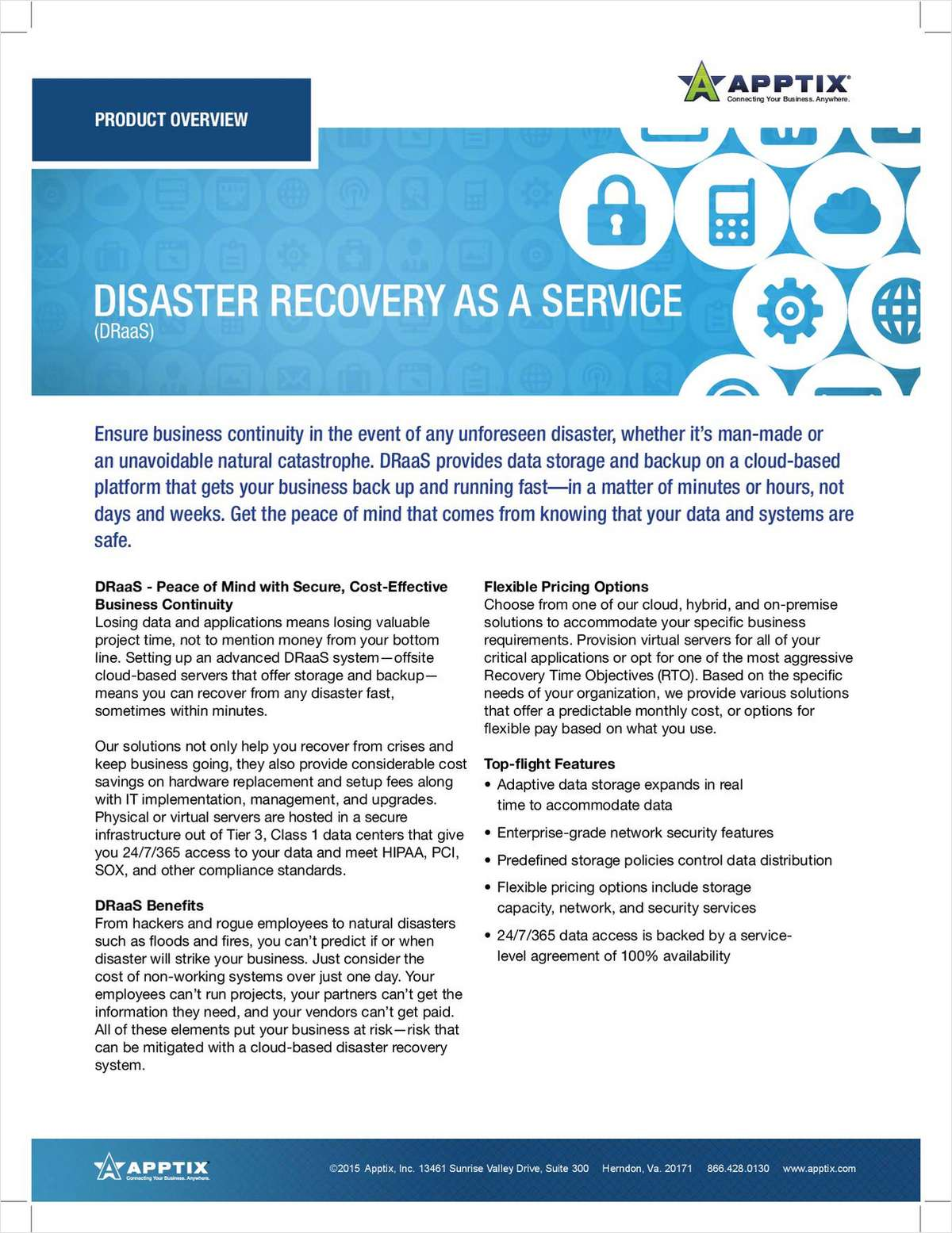Disaster Recovery as a Service - Peace of Mind with Secure, Cost-Effective Business Continuity