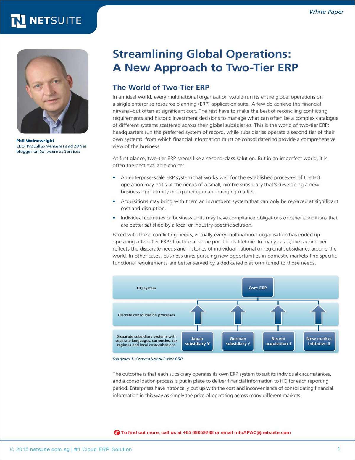Streamlining Global Operations: A New Approach to Two-Tier ERP