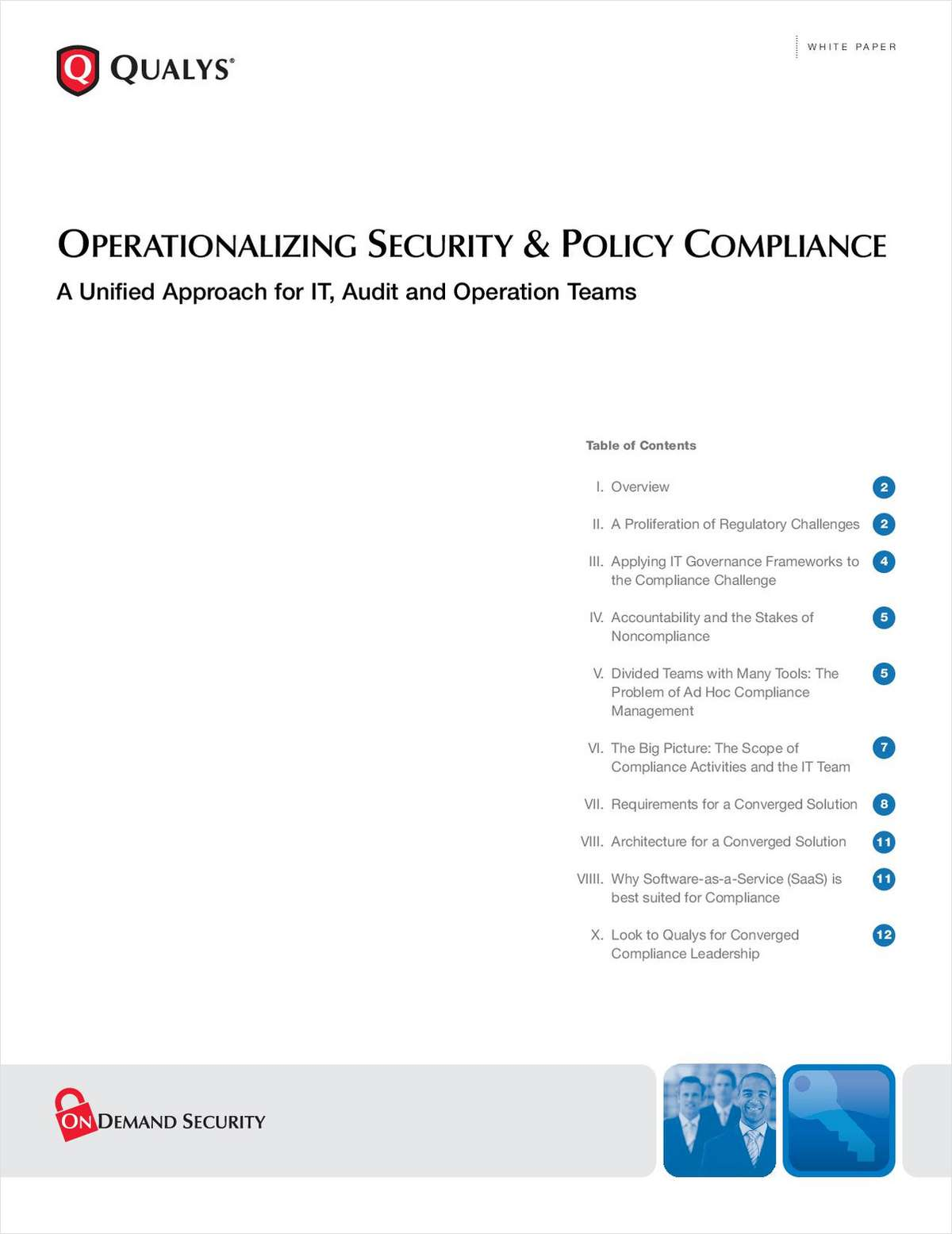 Operationalizing Security & Policy Compliance: A Unified Approach for IT, Audit and Operation Teams