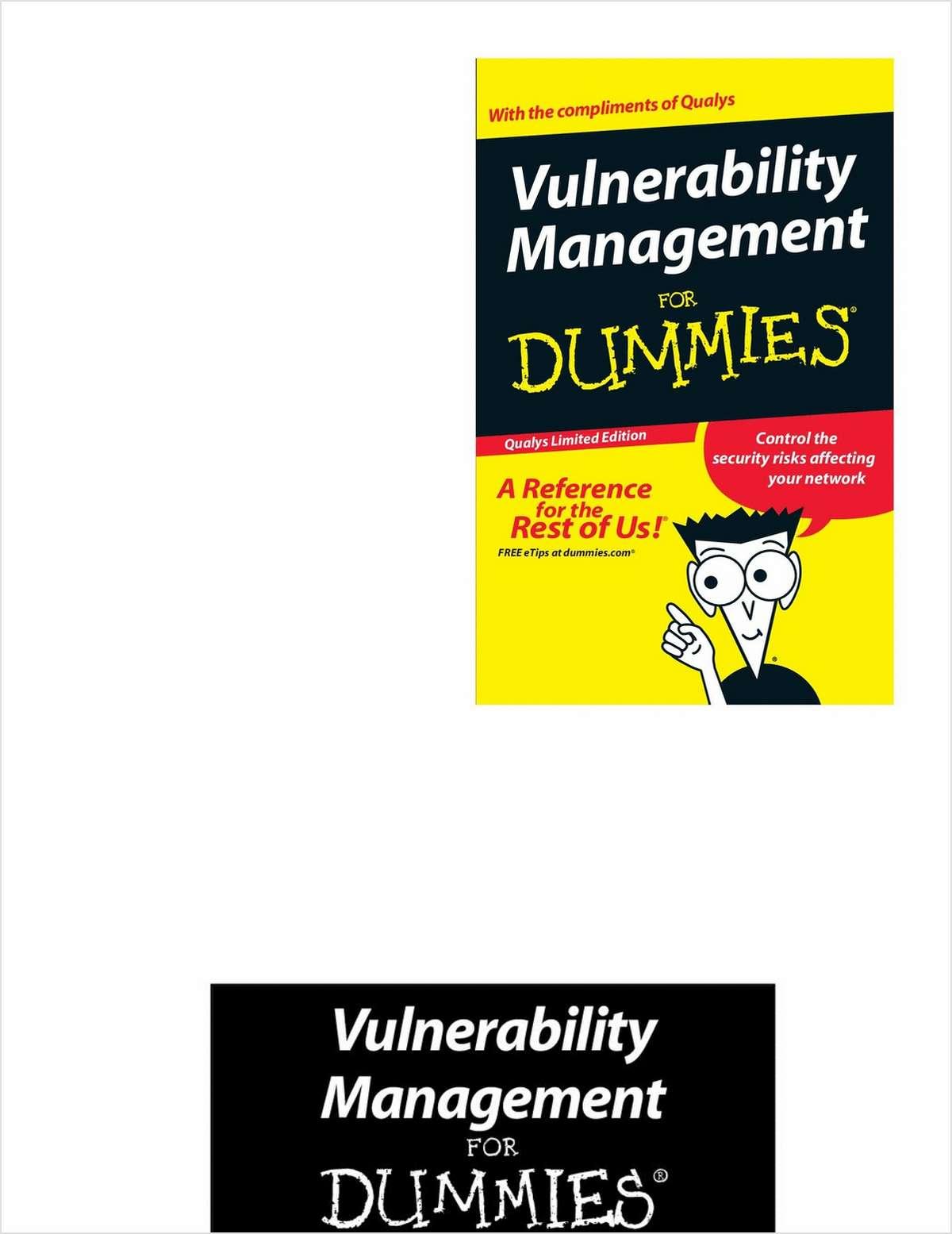 Vulnerability Management for Dummies