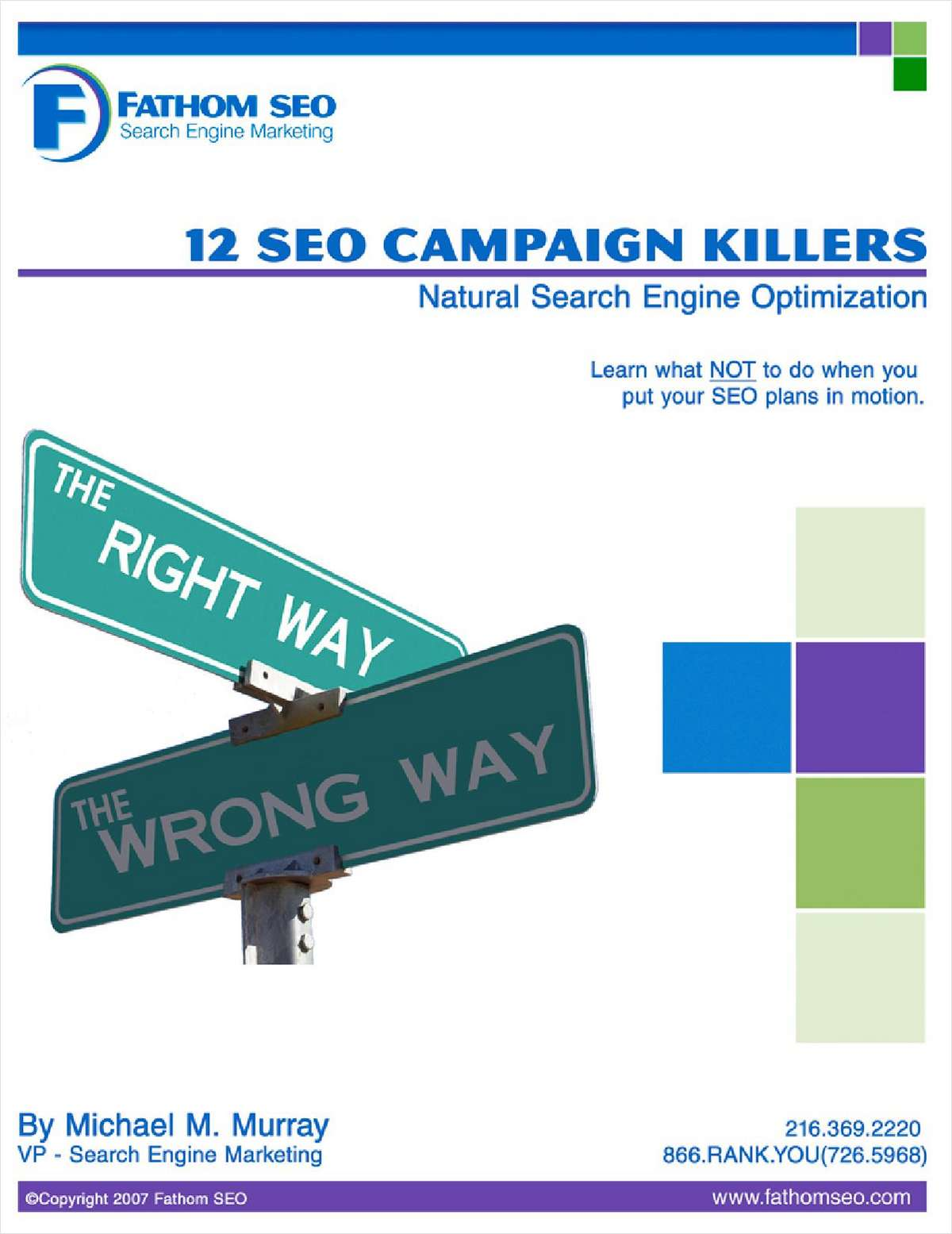 12 SEO Campaign Killers