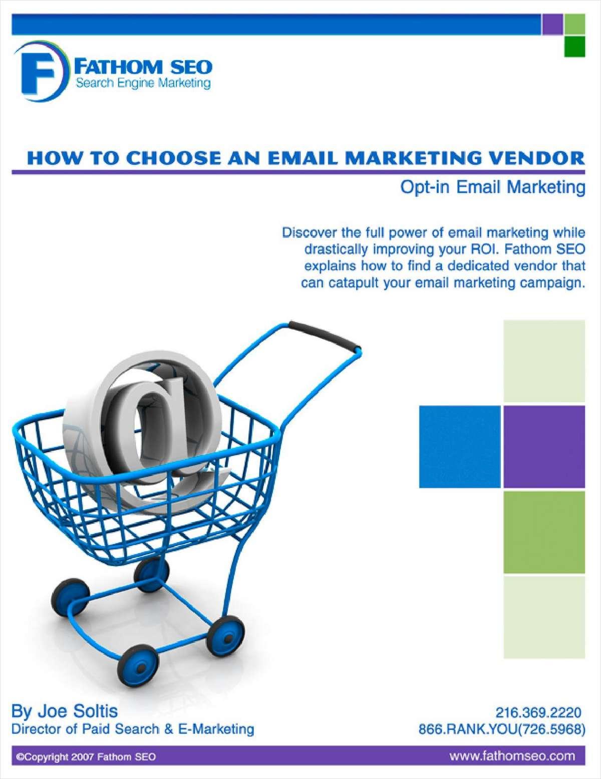 How To Choose An Email Marketing Vendor