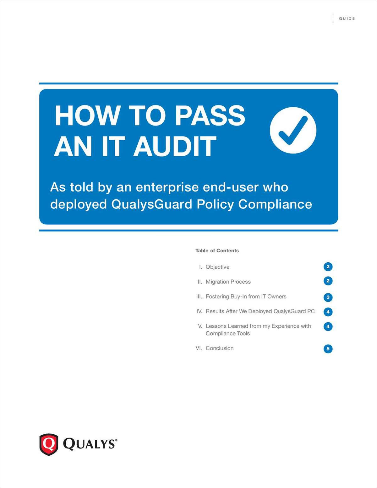 How to Pass an IT Audit