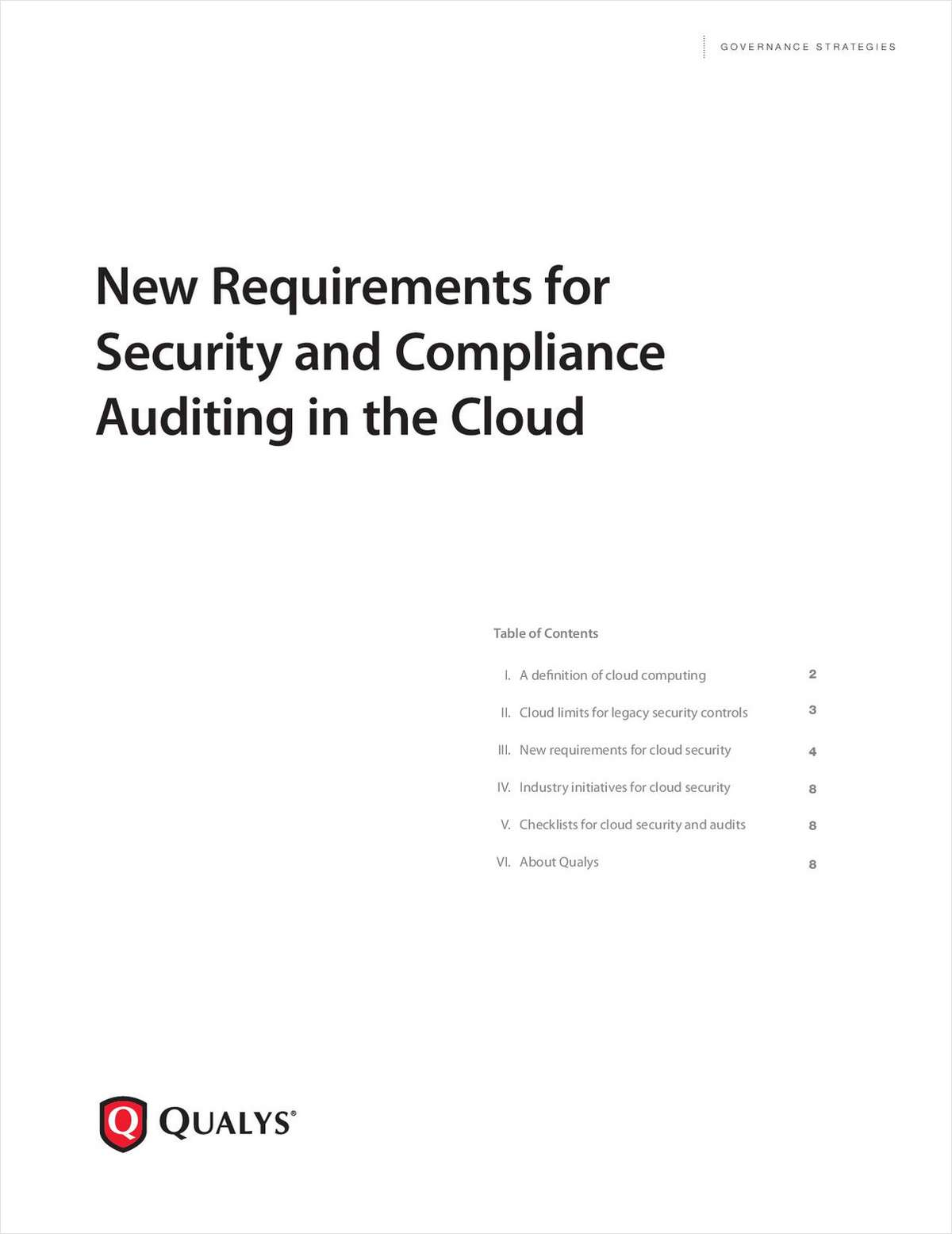 New Requirements for Security and Compliance Auditing in the Cloud