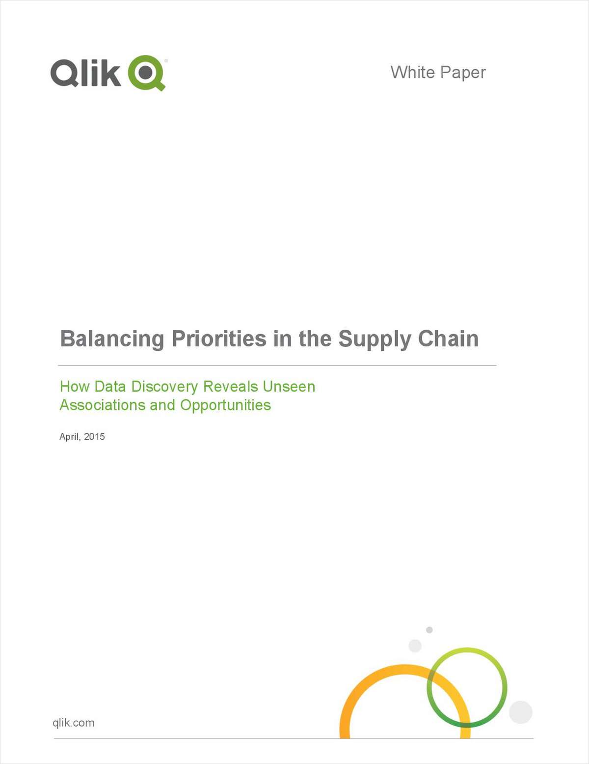Balancing Priorities in the Supply Chain: How Data Discovery Reveals Unseen Associations and Opportunities