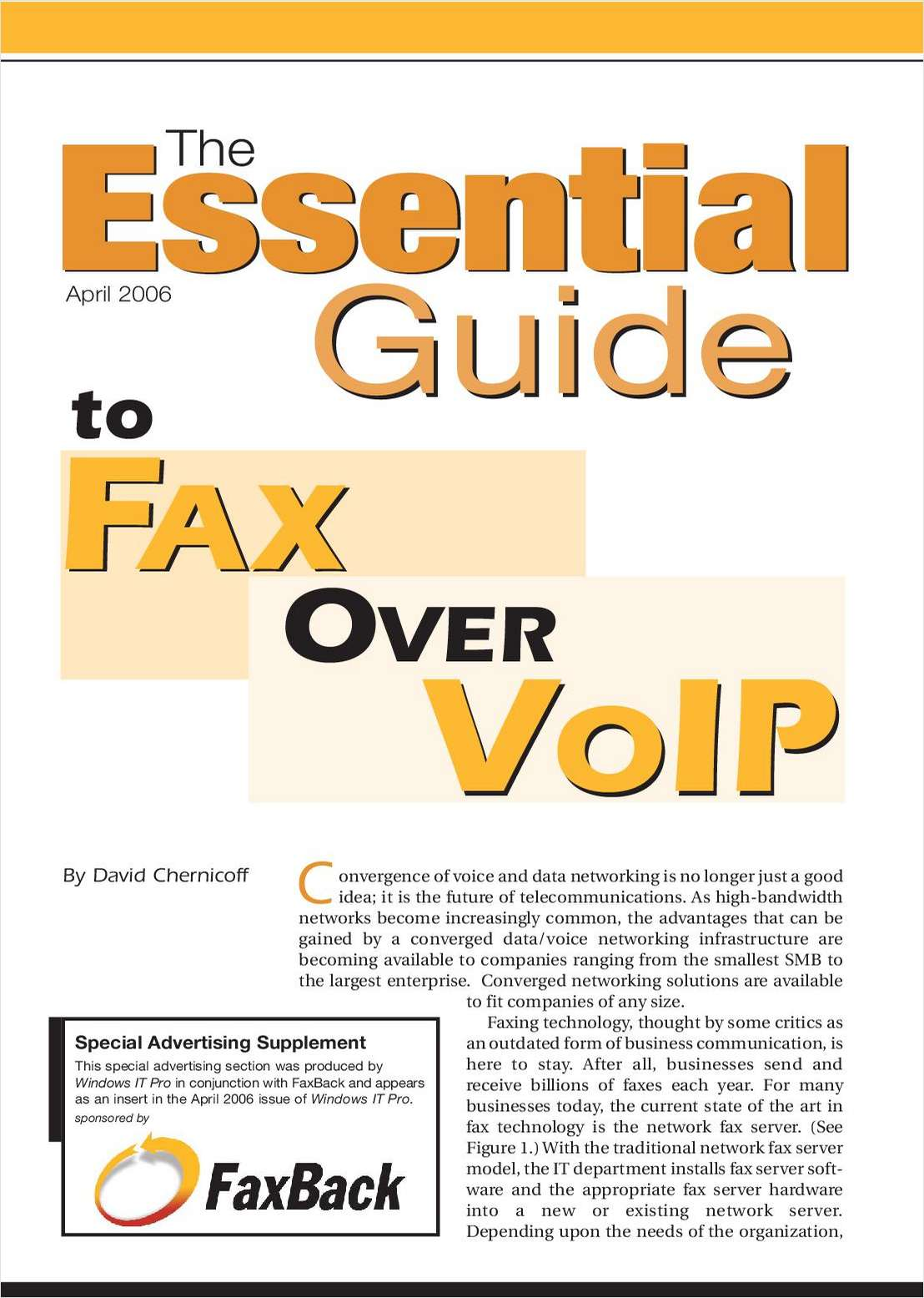 The Essential Guide to Fax over VoIP