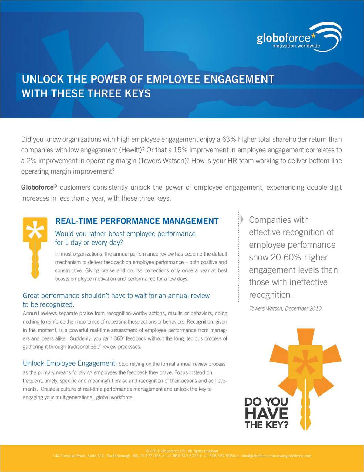 Unlock the Power of Employee Engagement