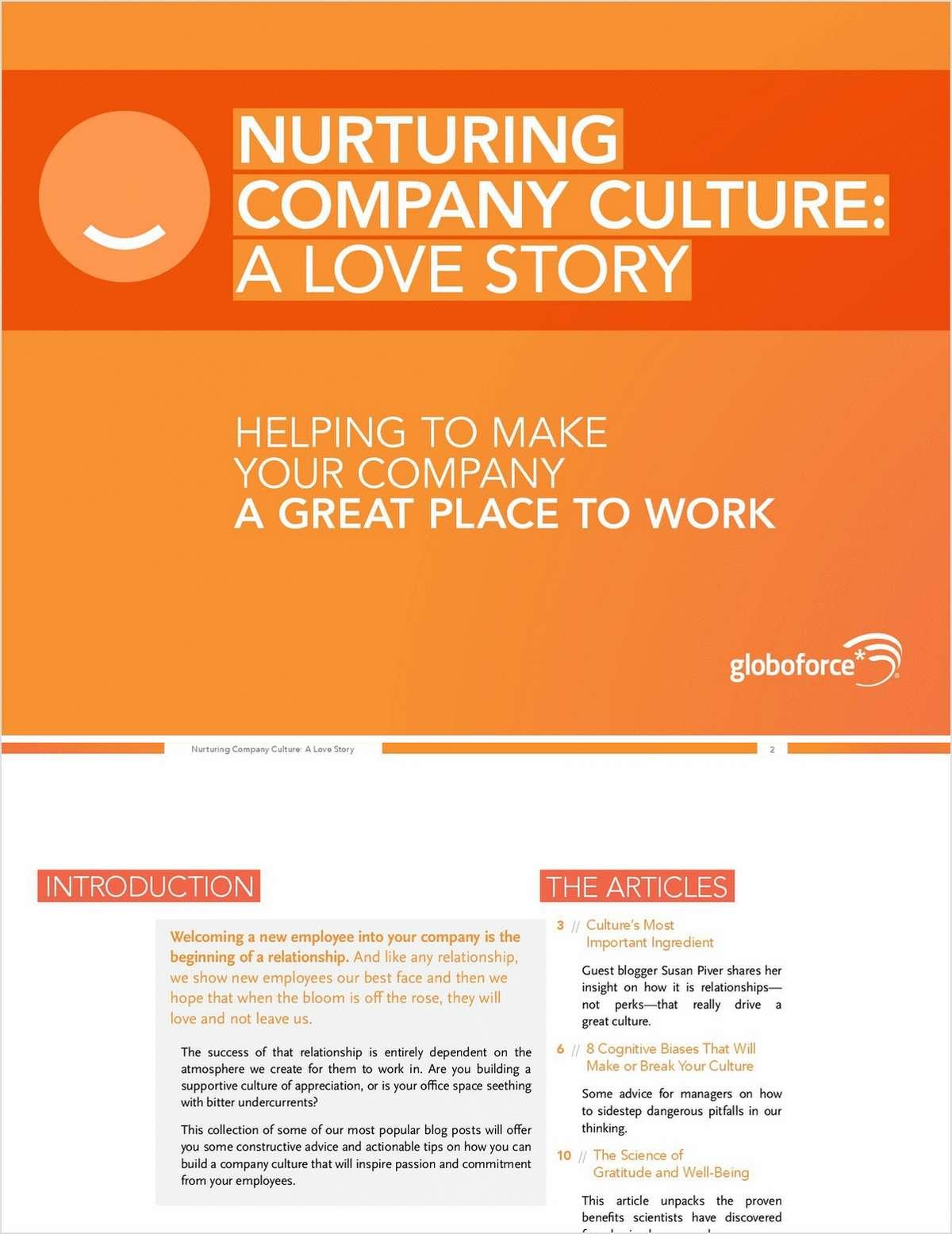 Nurturing Company Culture: A Love Story