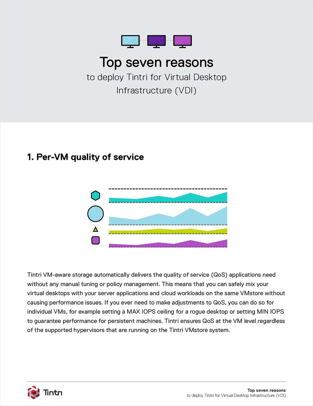 Seven Reasons To Deploy Tintri for VDI