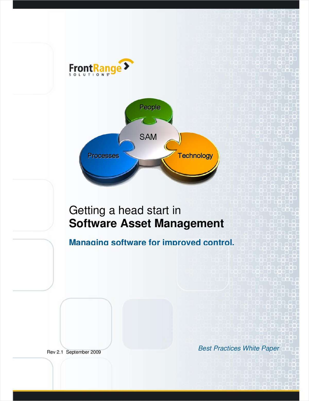Getting a Head Start in Software Asset Management