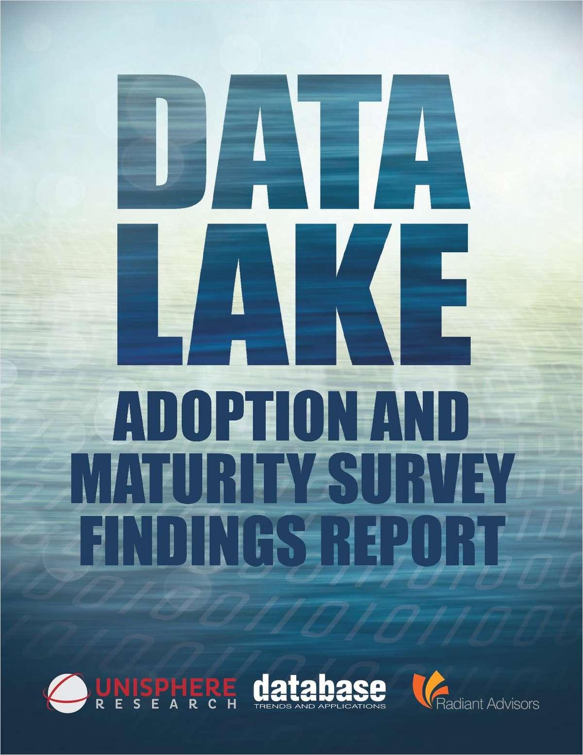 Data Lake Adoption and Maturity Survey Findings