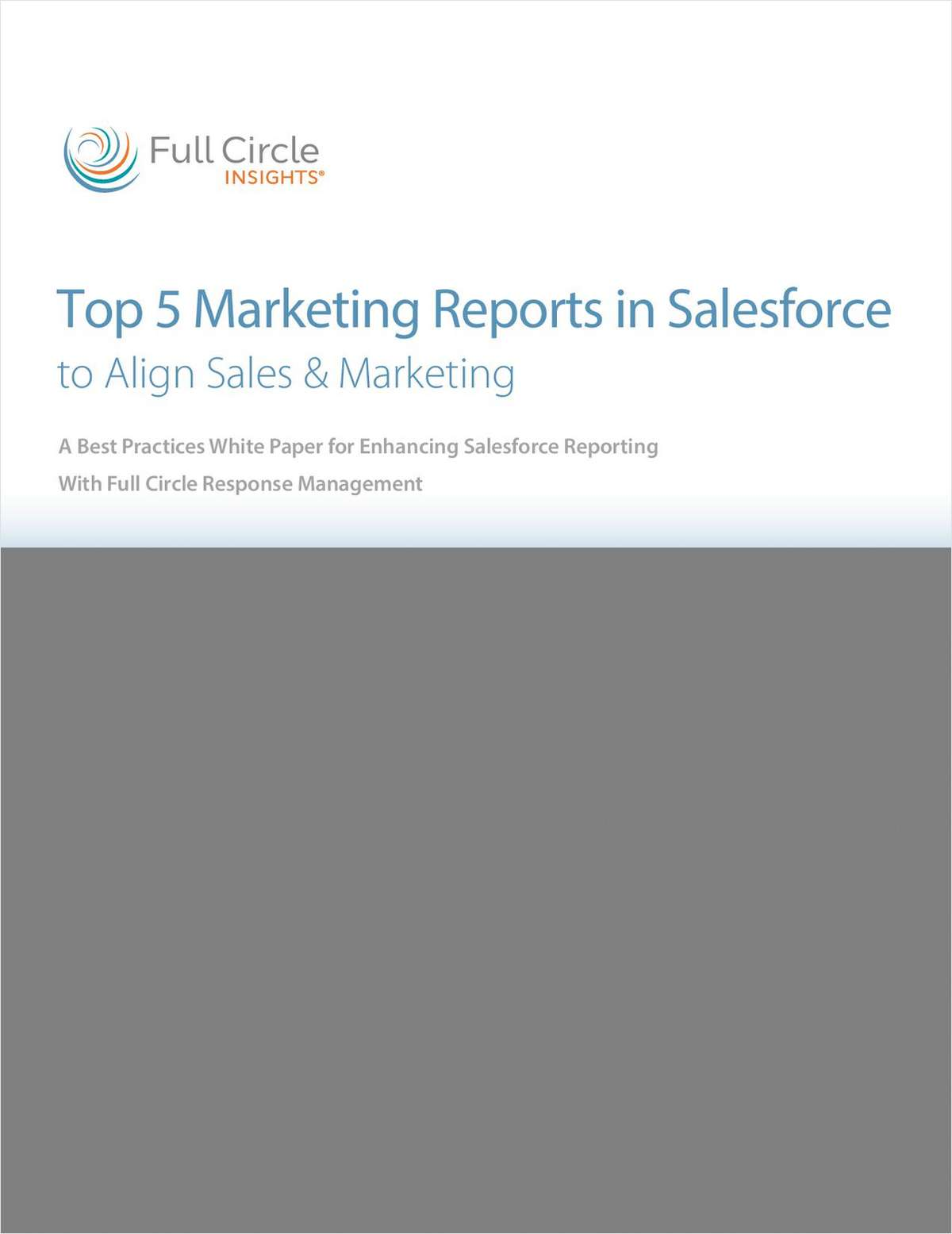 Top 5 Marketing Reports in Salesforce to Align Sales & Marketing