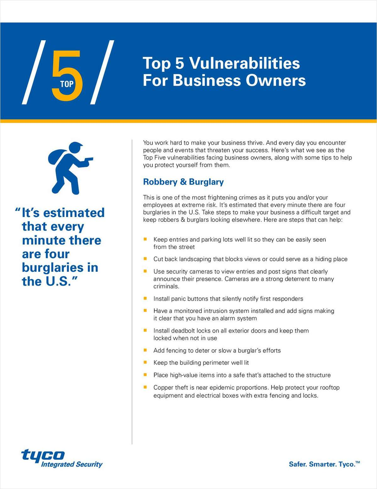 How to Overcome the Top 5 Business Vulnerabilities