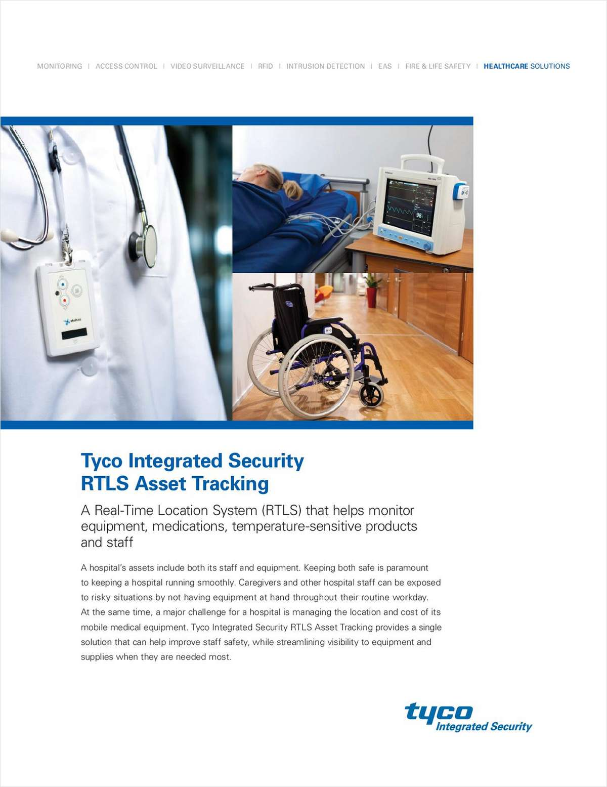 Tyco Integrated Security RTLS Asset Tracking