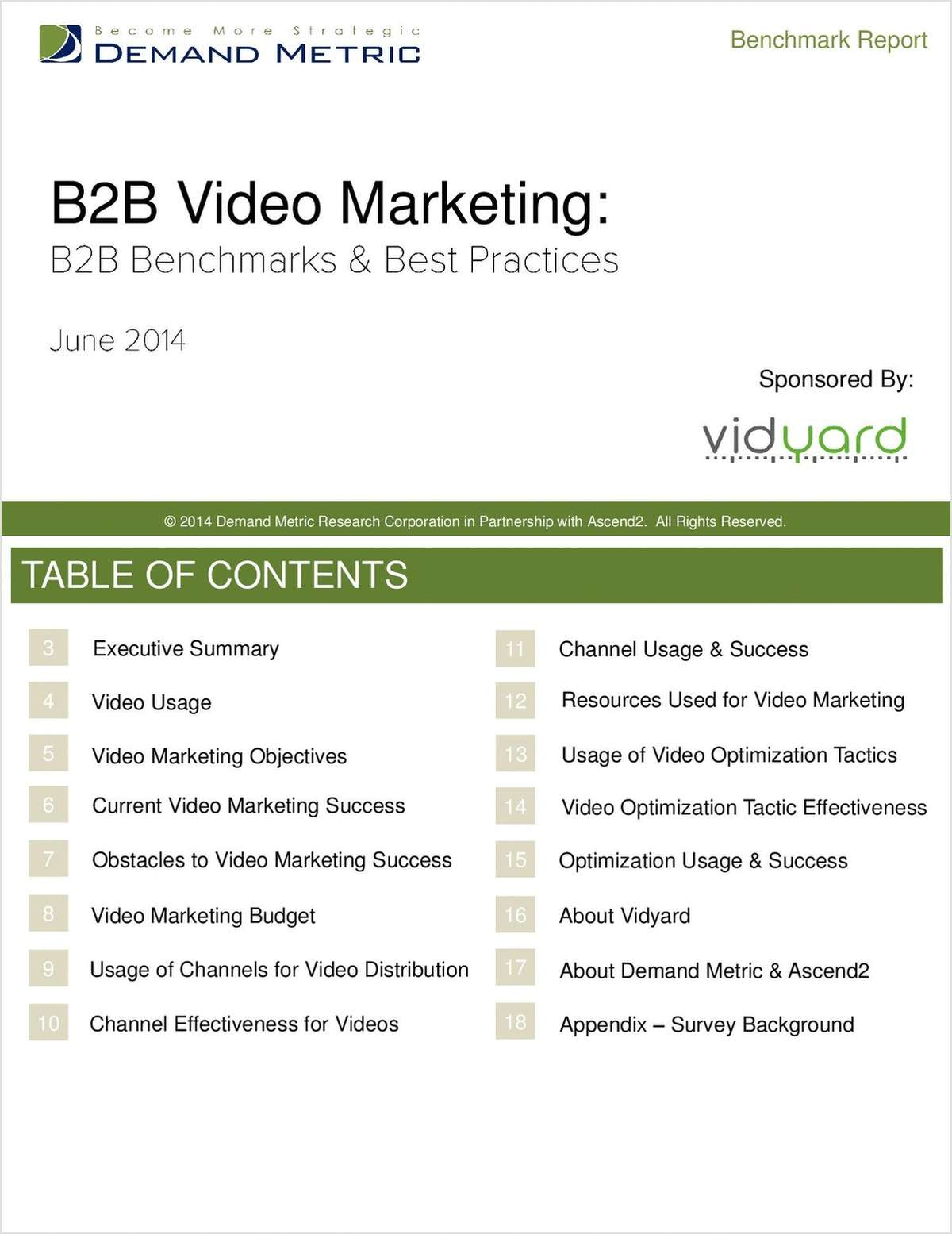 B2B Video Marketing: Benchmarks & Best Practices