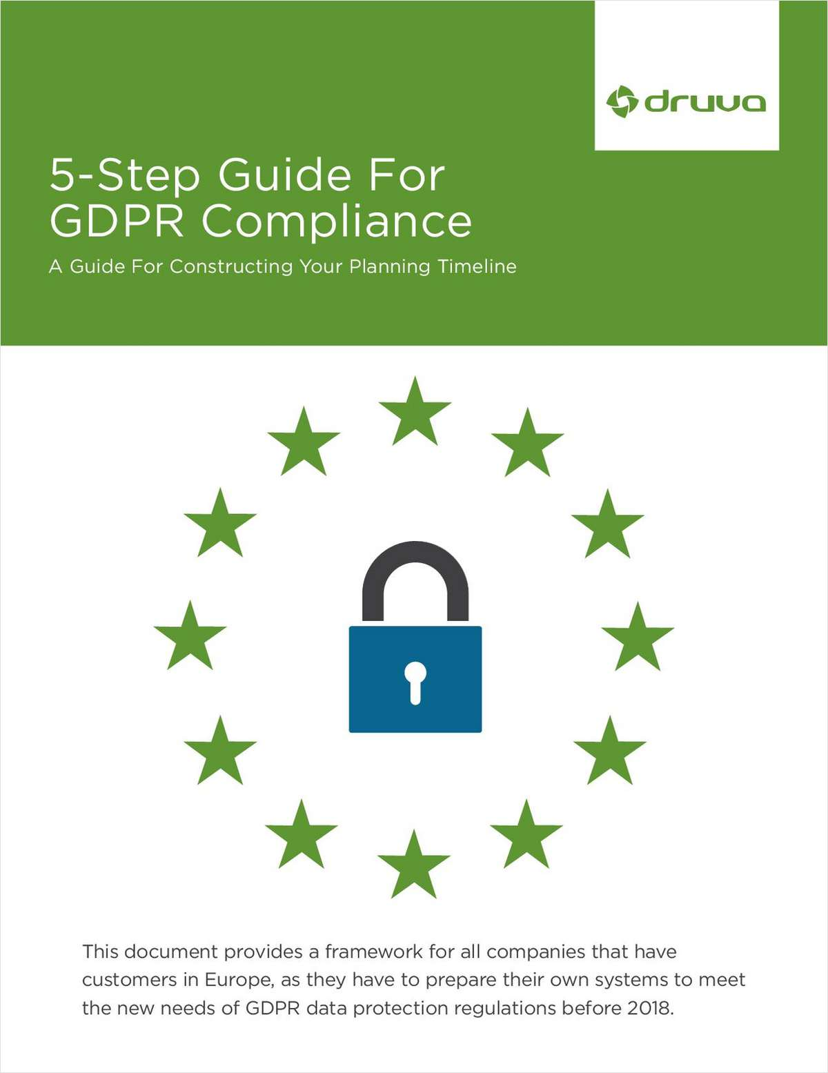 5-Step Guide For GDPR Compliance: A Guide For Constructing Your Planning Timeline