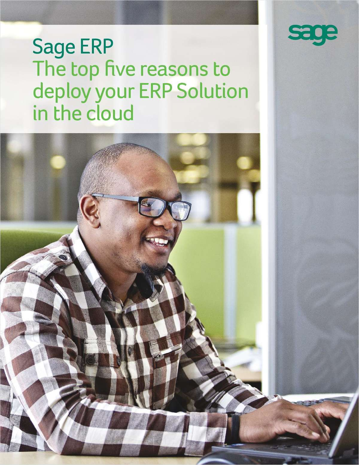 Sage ERP: The Top Five Reasons to Deploy your ERP Solution in the Cloud
