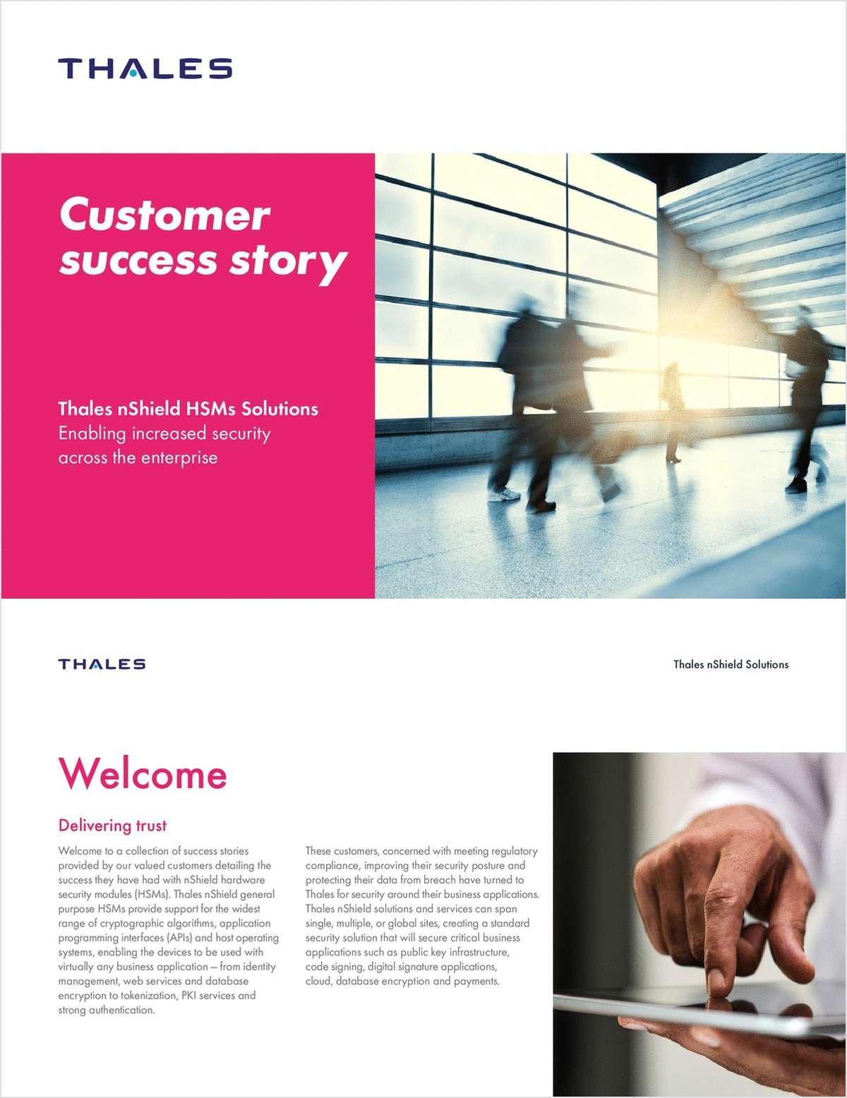 Security Across the Enterprise - Customer Success Stories
