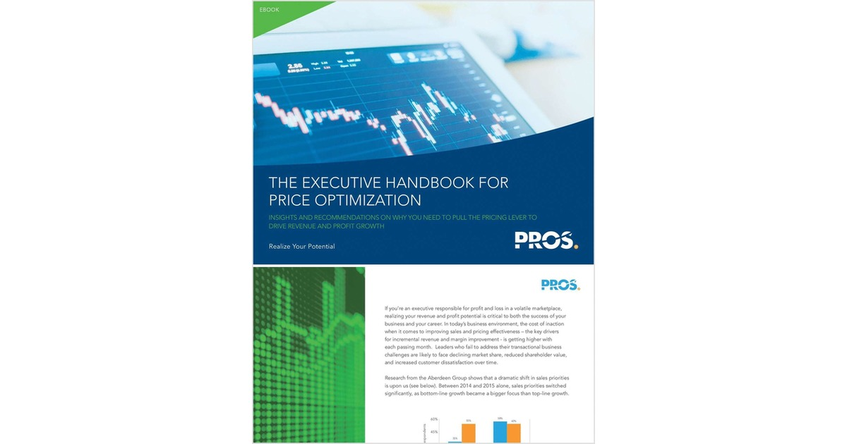 The executive handbook for price optimization free pros ebook fandeluxe Images