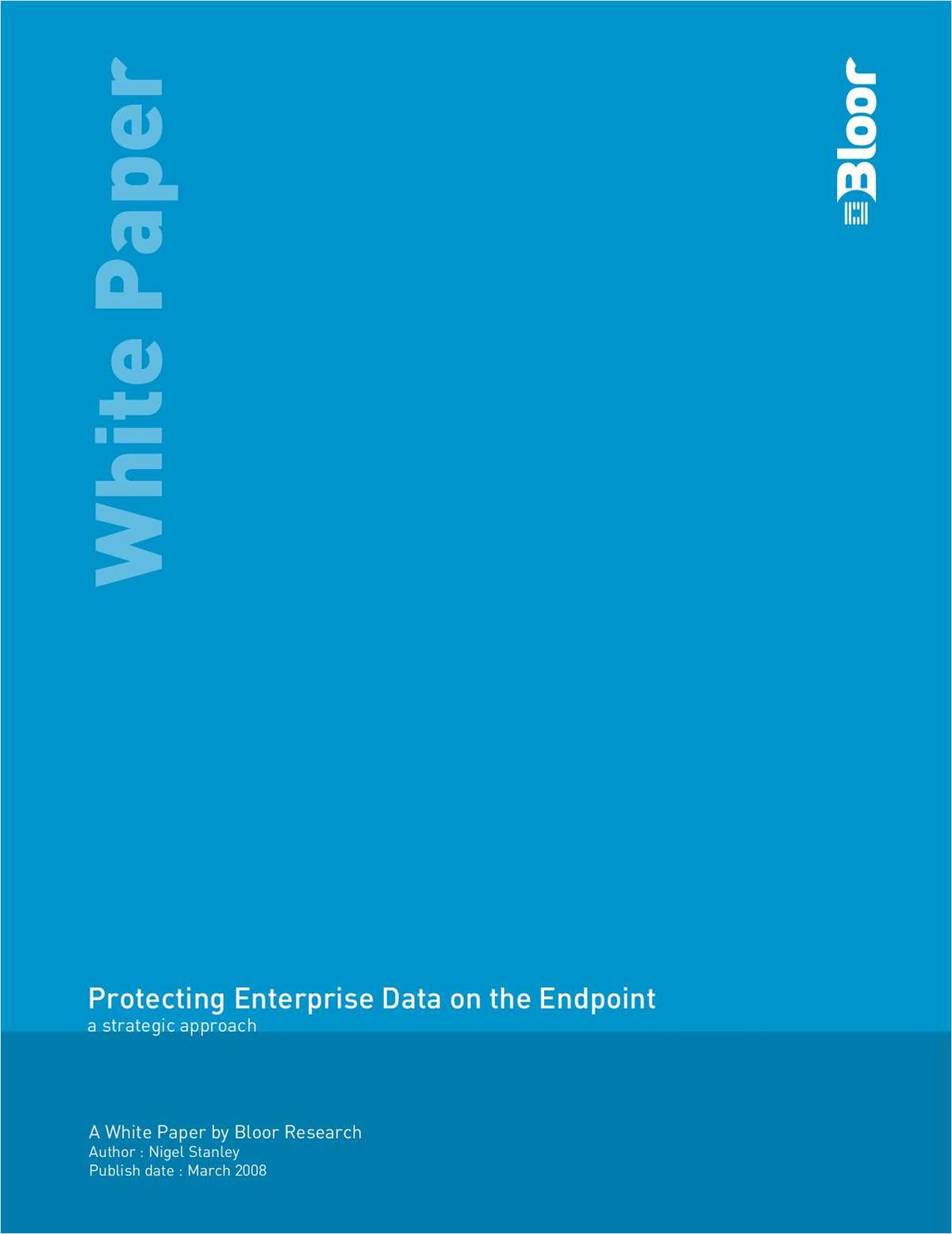Protecting Enterprise Data on the Endpoint: A Strategic Approach