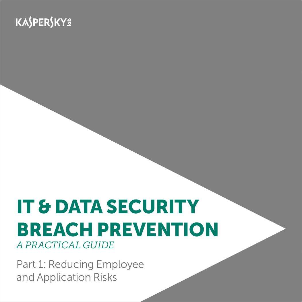 Practical Guide to IT Security Breach Prevention Part I