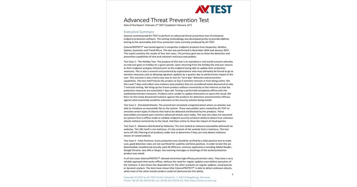 sophos antivirus free test