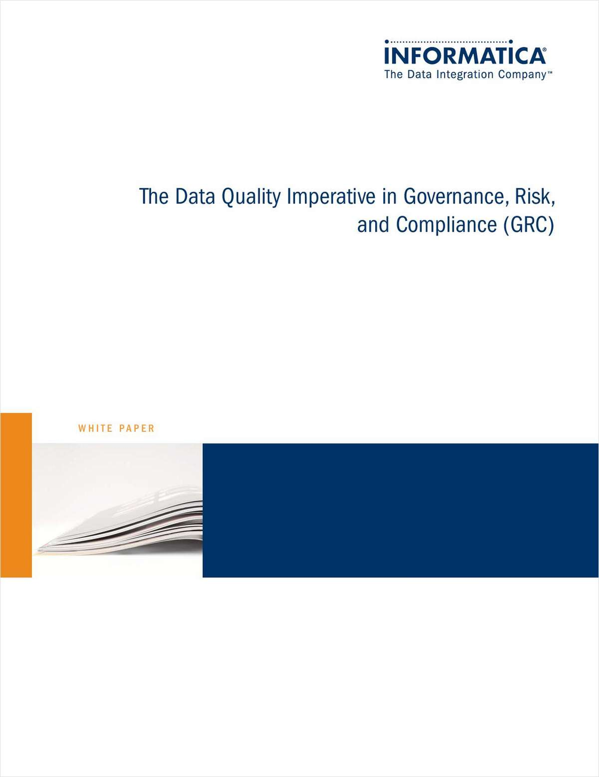 The Data Quality Imperative in Governance, Risk and Compliance