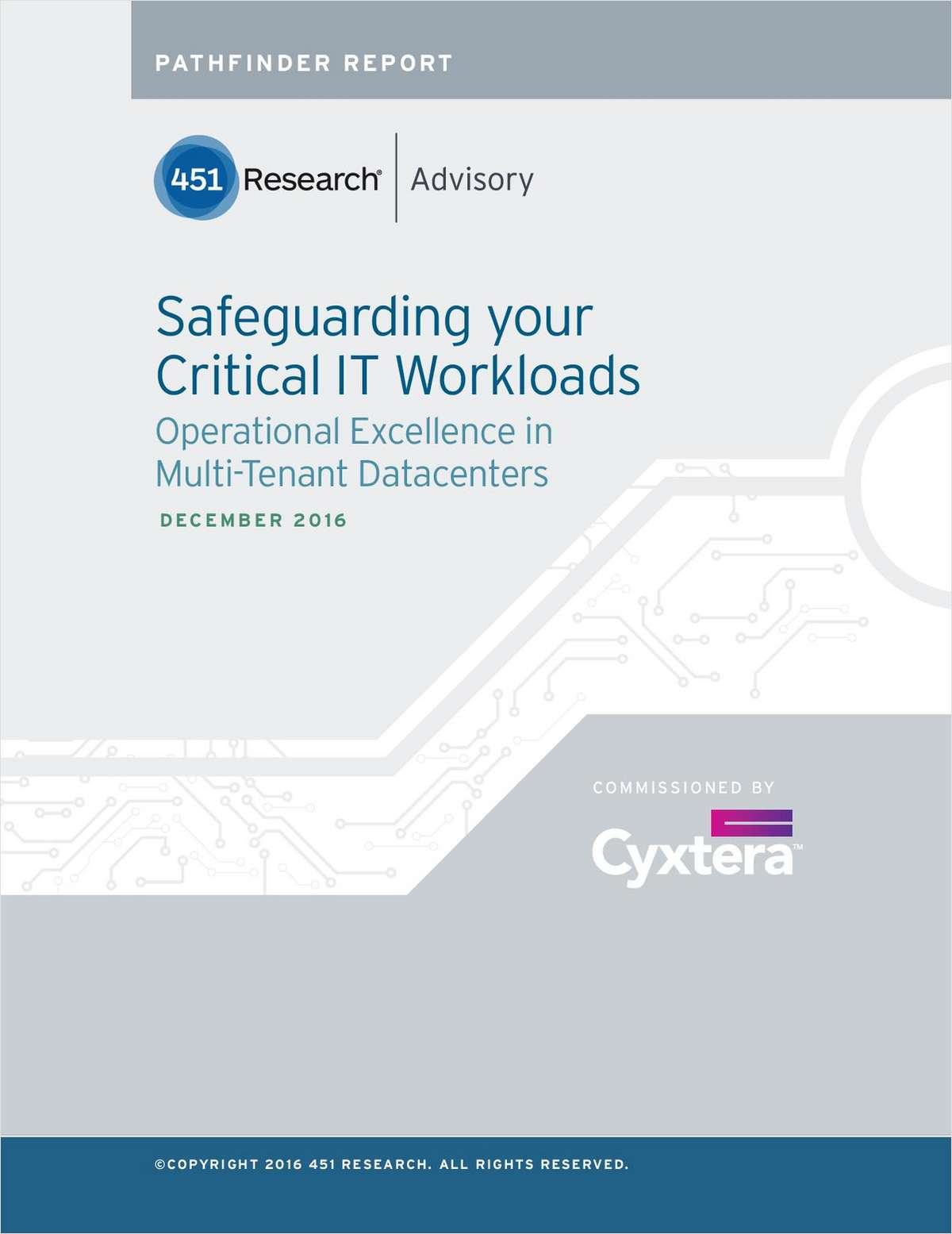 Safeguarding your Critical IT Workloads: Operational Excellence in Multi-Tenant Datacenters