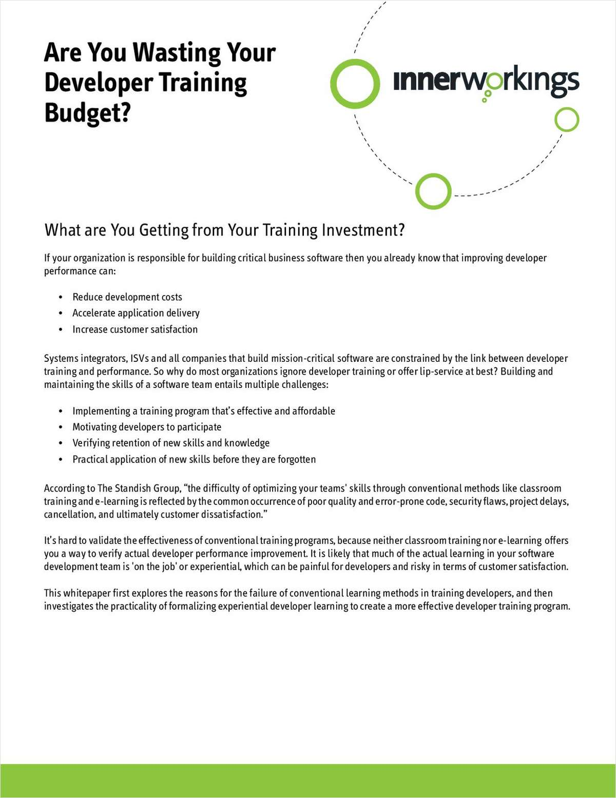 Are You Wasting Your .NET Developer Training Budget?