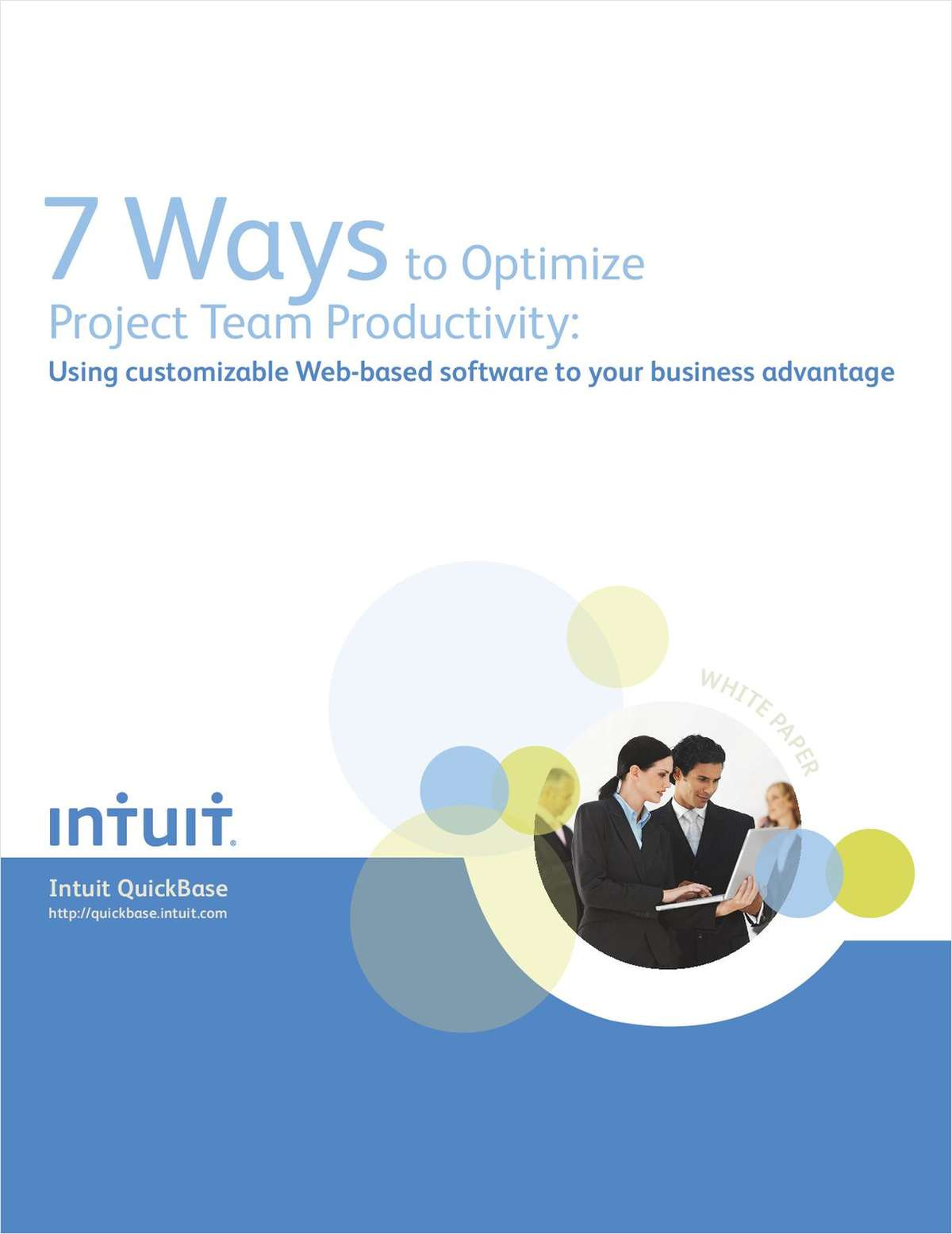 7 Ways to Optimize Project Team Productivity: Using Customizable Web-based Project Management Software to Your Business Advantage