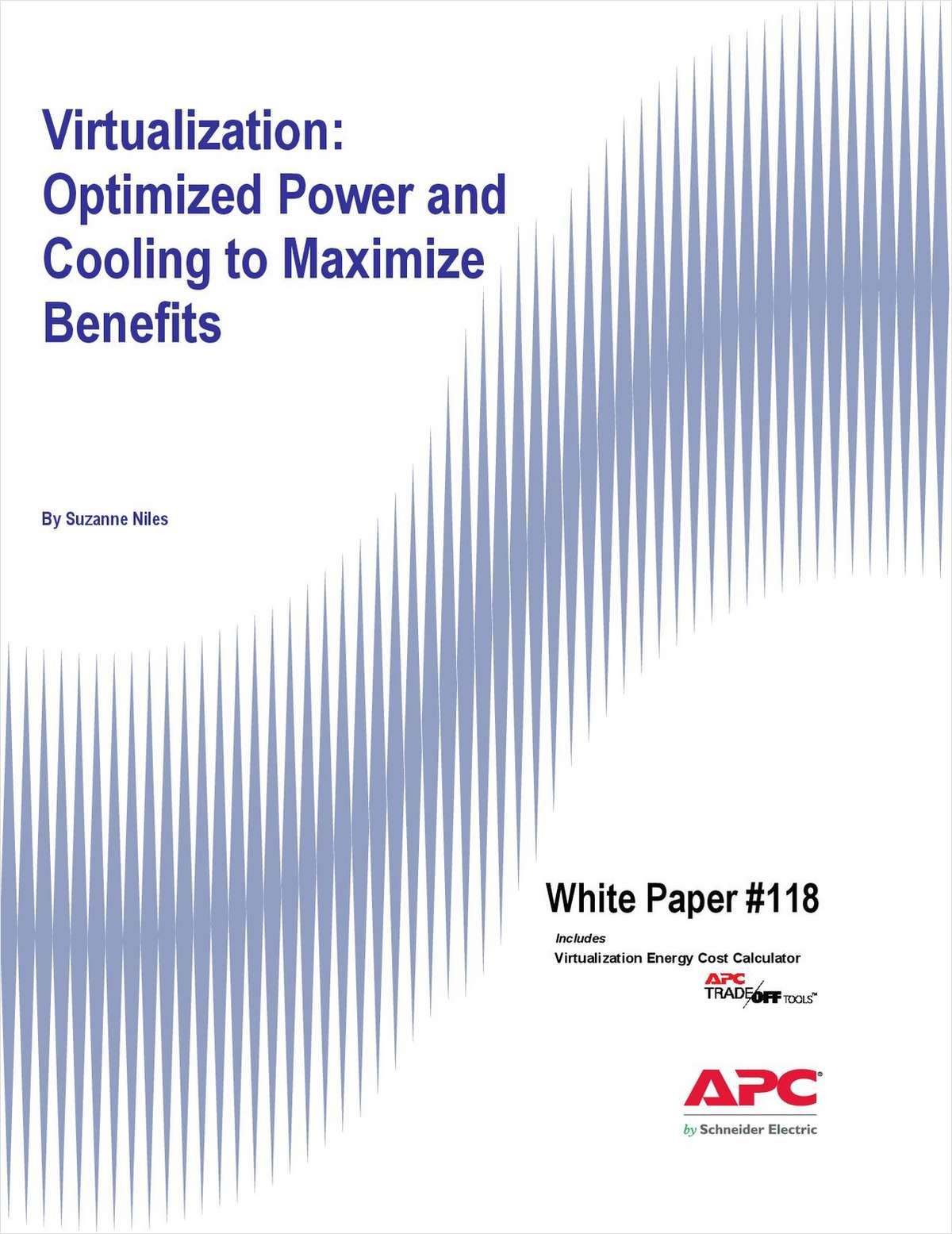 Virtualization: Optimized Power and Cooling to Maximize Benefits