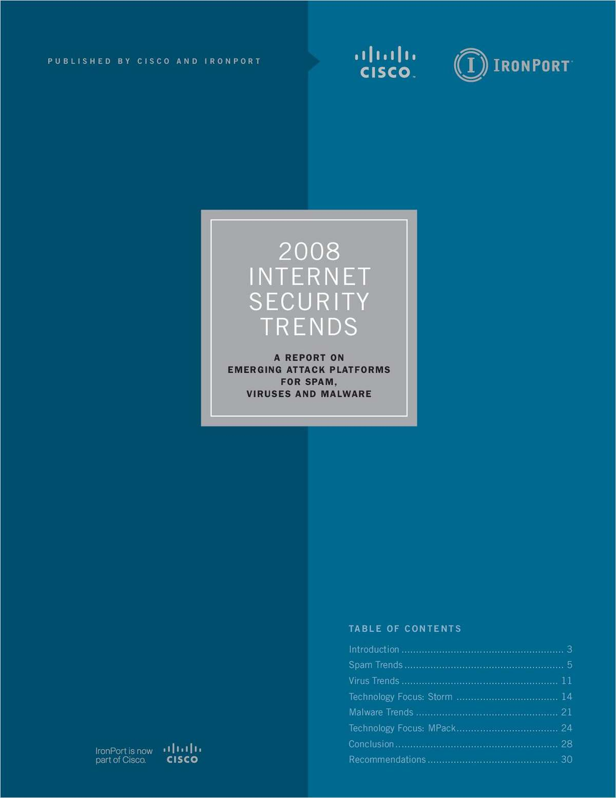 2008 Internet Security Trends