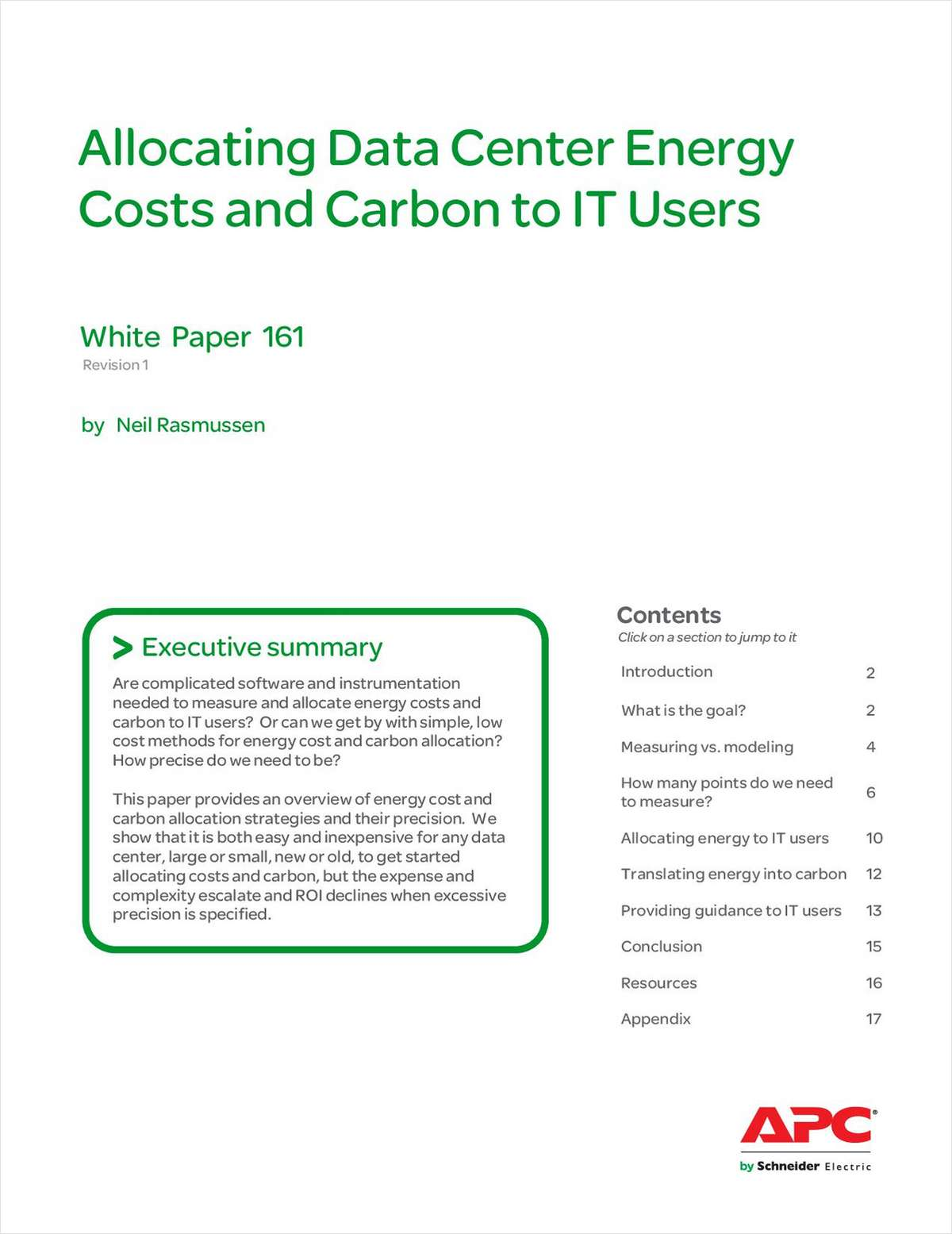 Allocating Data Center Energy Costs and Carbon to IT Users