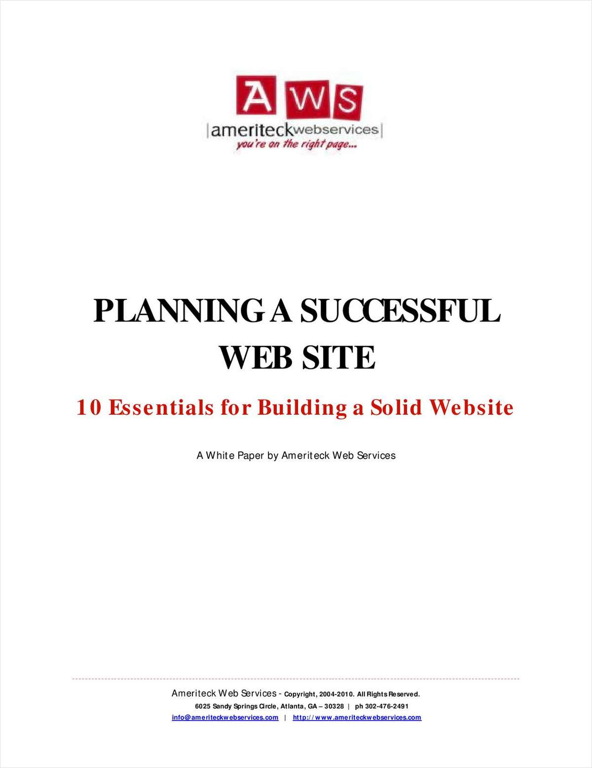 10 Essentials for Building a Solid Website