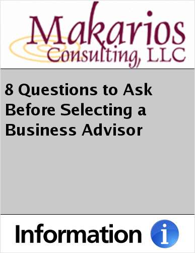 8 Questions to Ask Before Selecting a Business Advisor