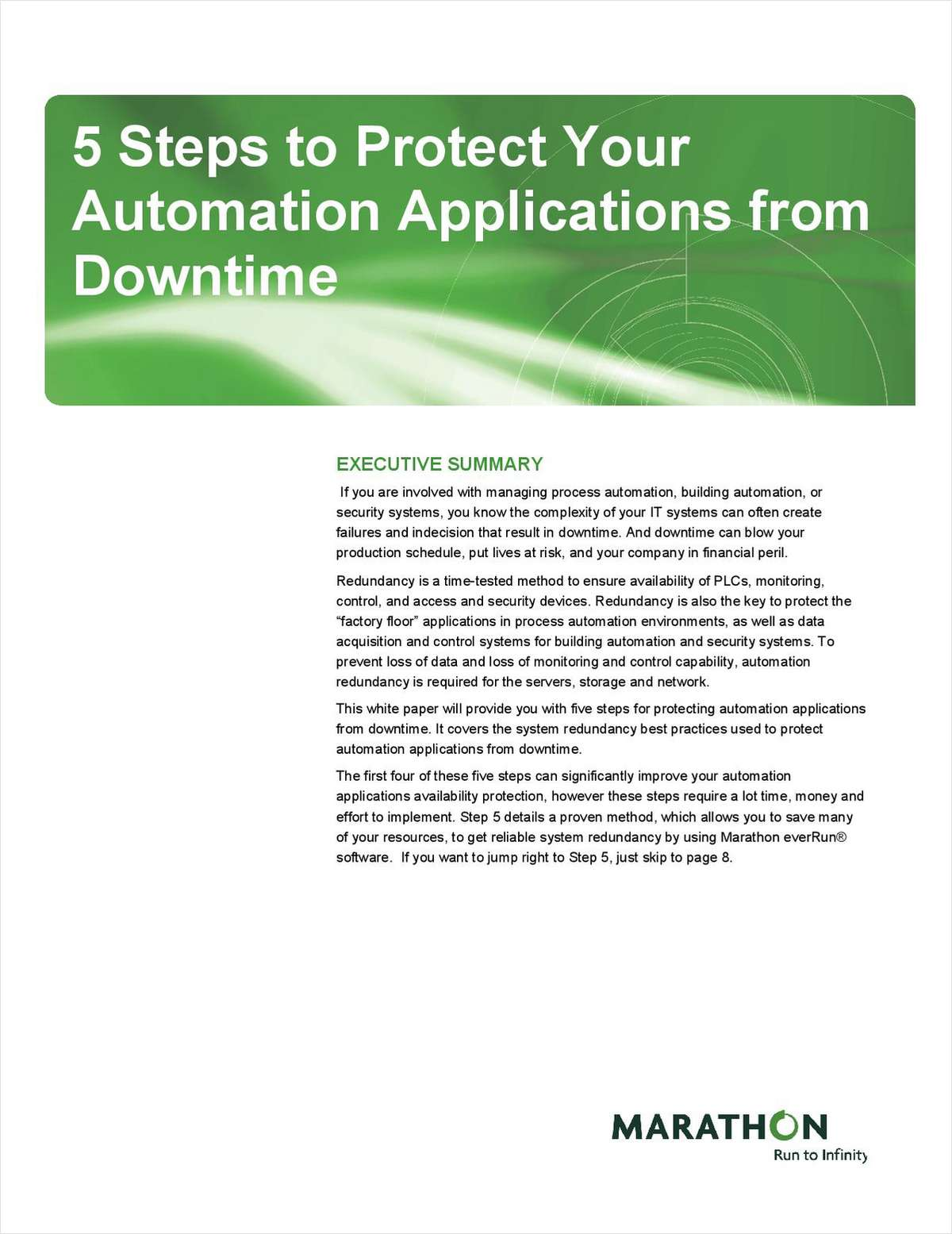 5 Steps to Protect Your Automation Applications from Downtime