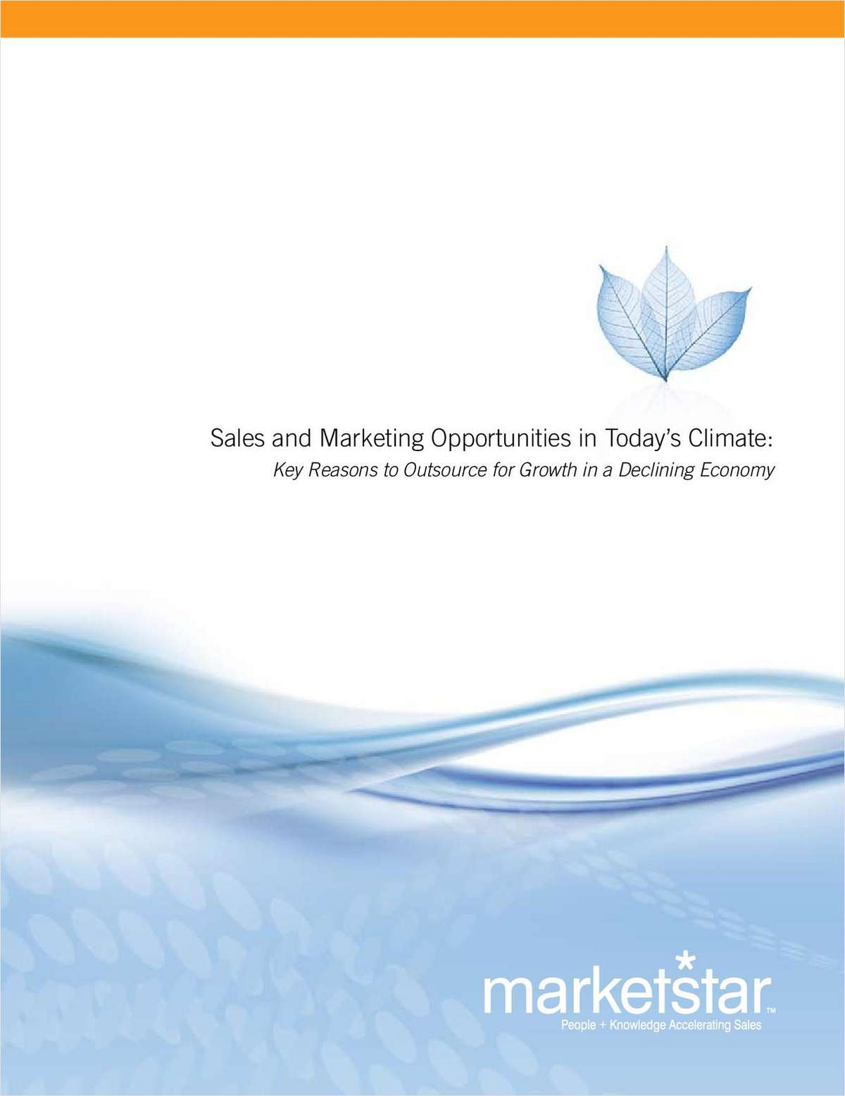 Sales and Marketing Opportunities in Today's Climate: Key Reasons to Outsource for Growth in a Declining Economy