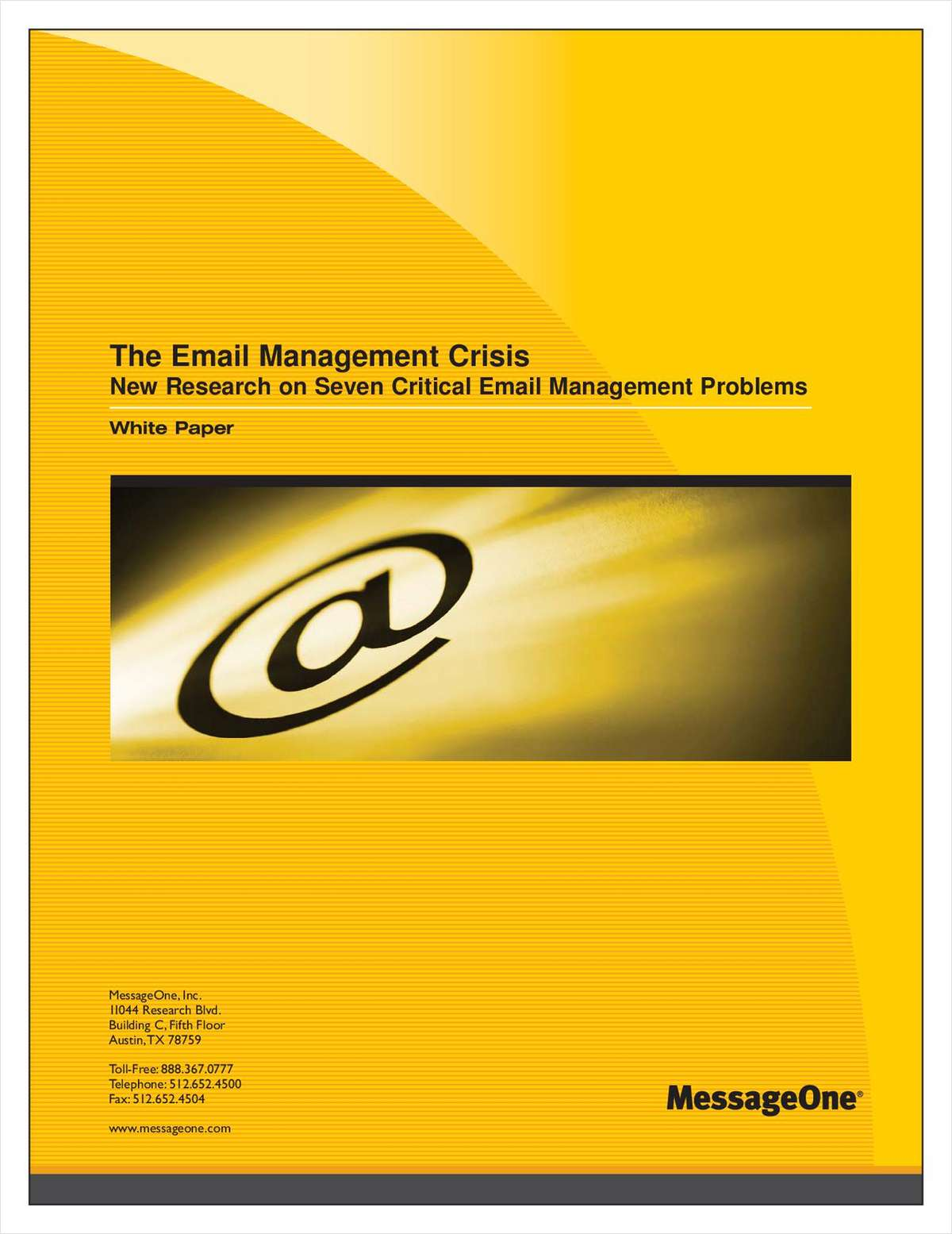 The 7 Email Management Problems of 2007