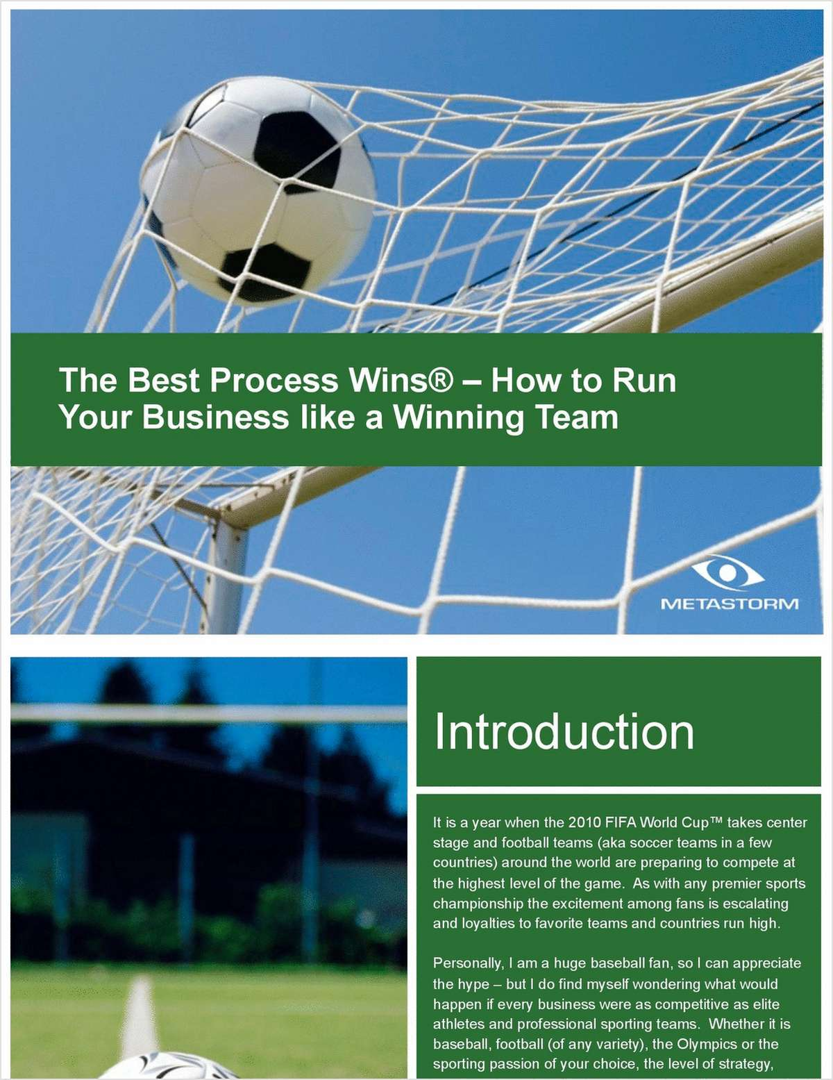 The Best Process Wins® – How to Run Your Business like a Winning Team