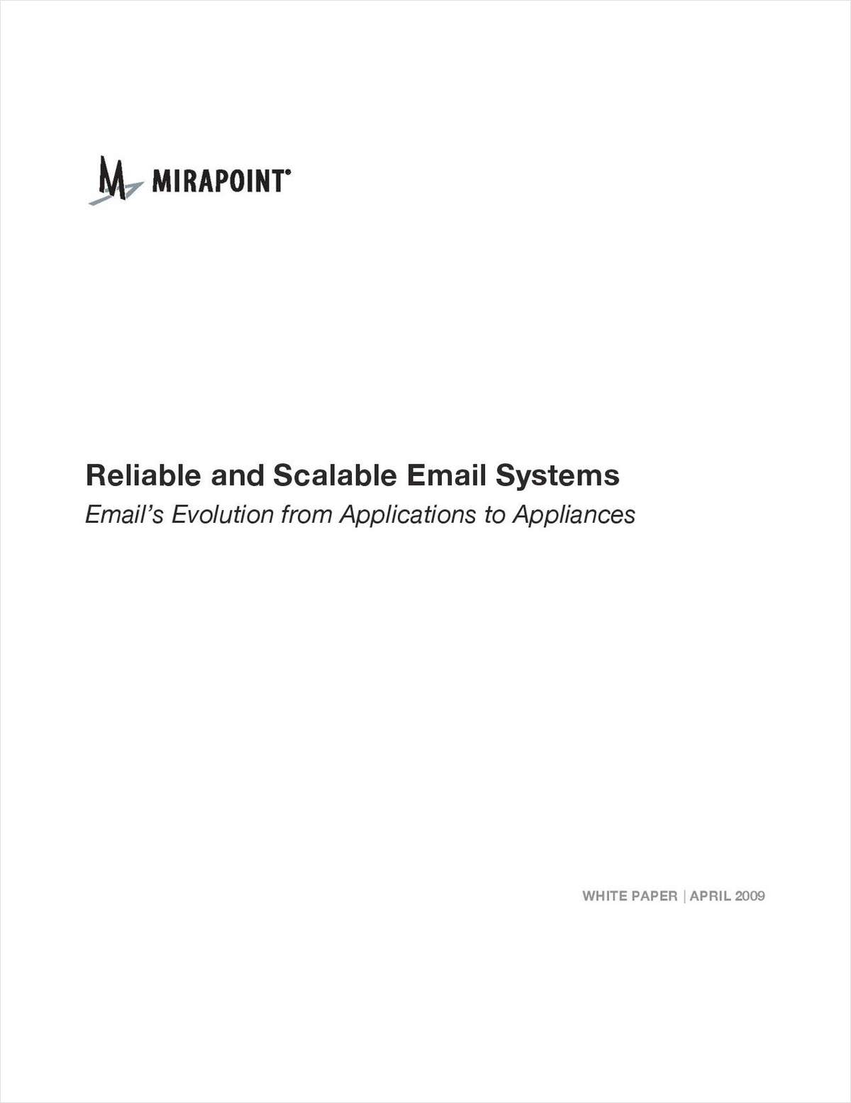 How to Build and Architect a Reliable and Scalable Enterprise Level Email System