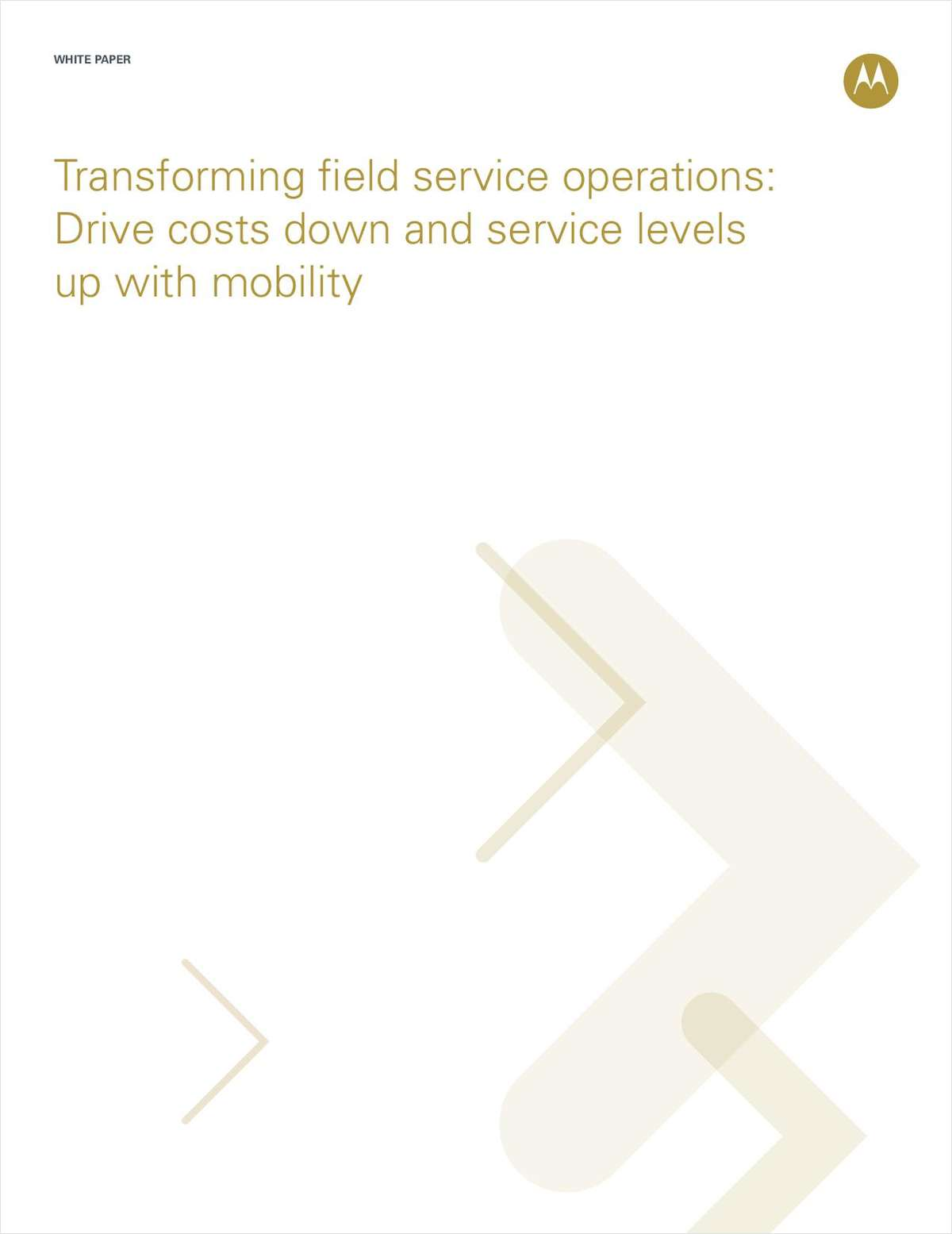 Transforming Field Service Operations with Mobility