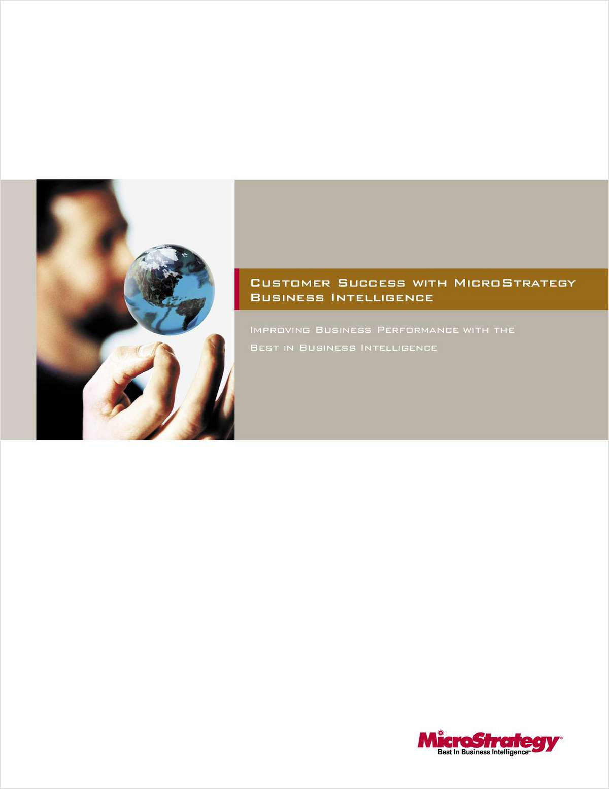 Best Practices and Case Studies for Standardizing on Business Intelligence Software
