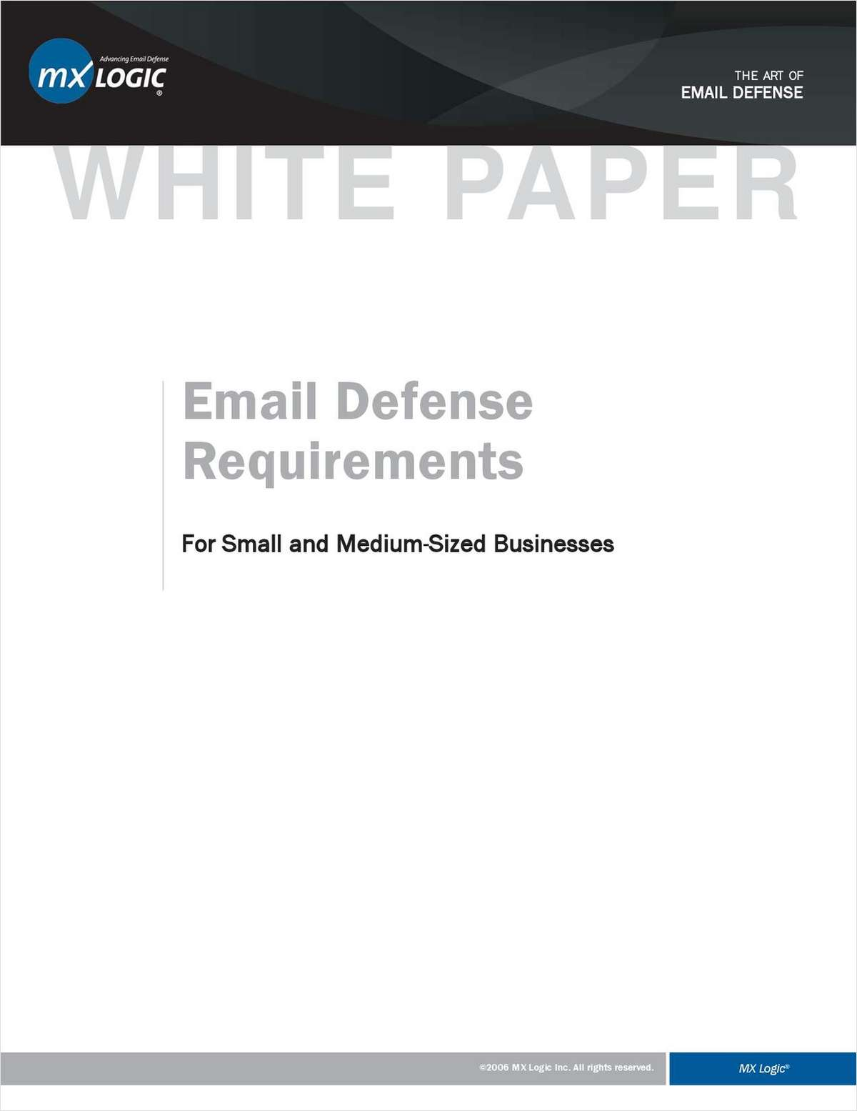 Email Defense Requirements for Small and Medium-Sized Businesses