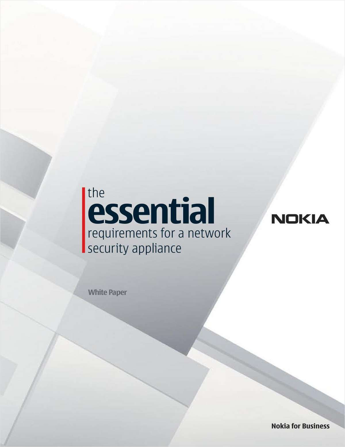 The Essential Requirements: Network Security Appliance