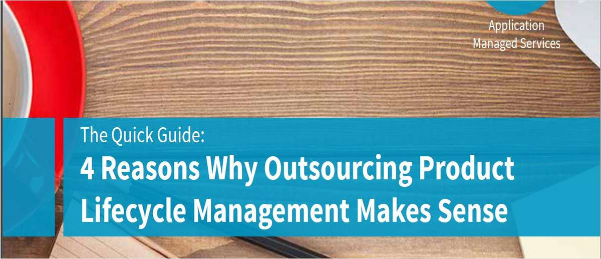 4 Reasons Why Outsourcing Product Lifecycle Management (PLM) Makes Sense