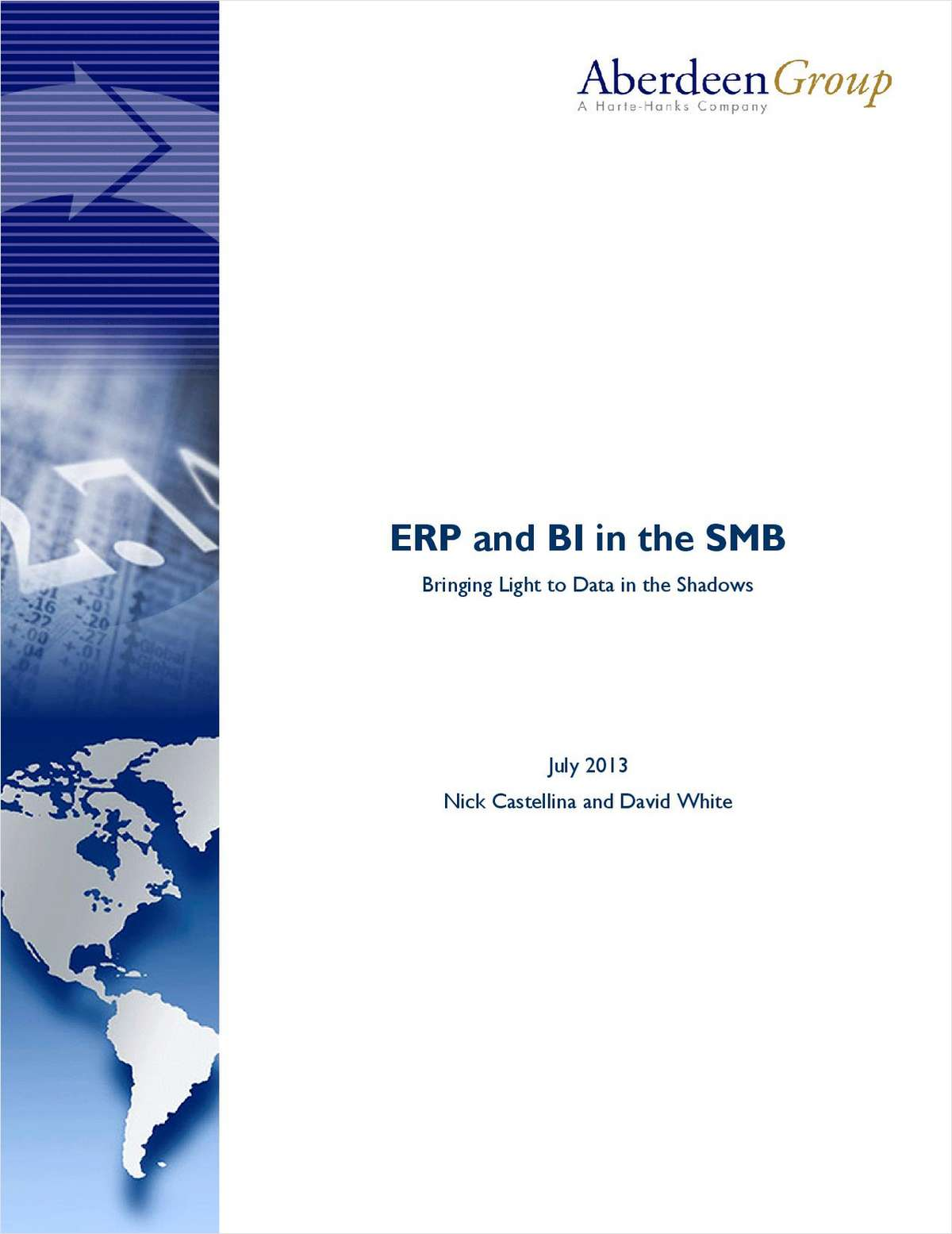 ERP and BI in the SMB: Bringing Light to Data in the Shadows