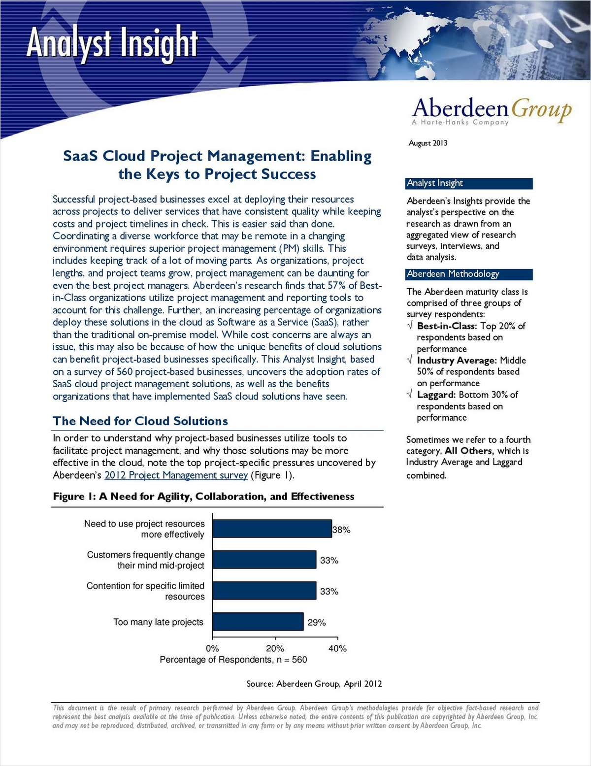 SaaS Cloud Project Management: Enabling the Keys to Project Success