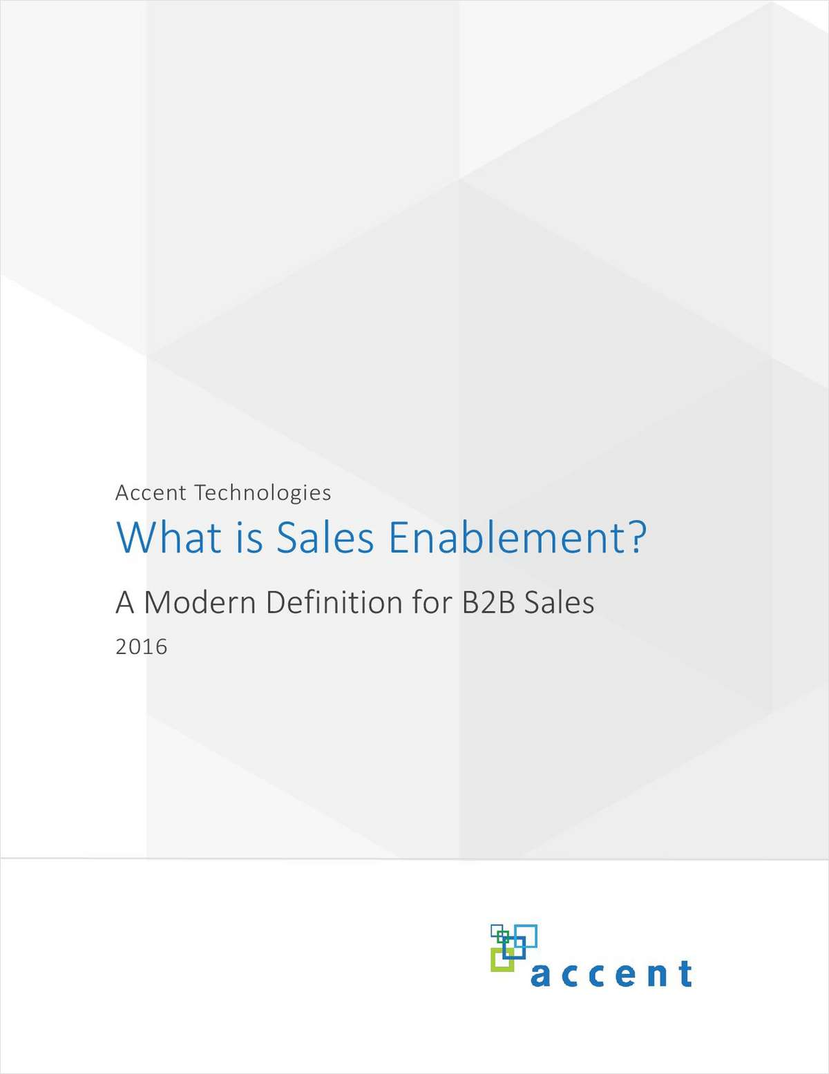 What is Sales Enablement? A Modern Definition for B2B Sales.