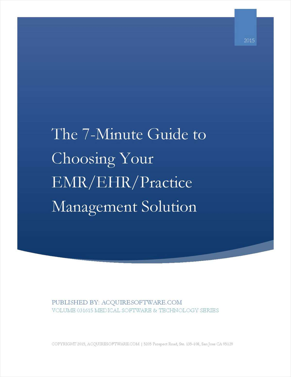 7-Minute Buyer's Guide: Selecting the Right EHR (Electronic Health Records) and  Practice Management (PM) Solution for Your Practice