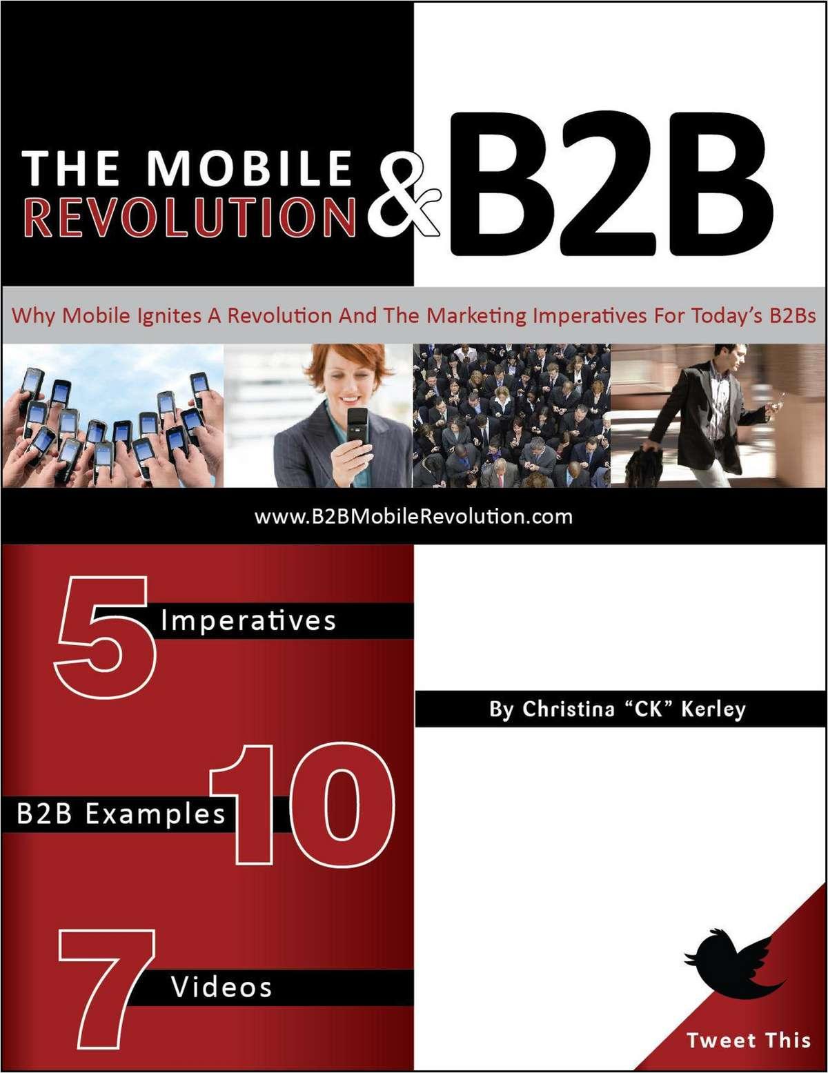 The Mobile Revolution & B2B